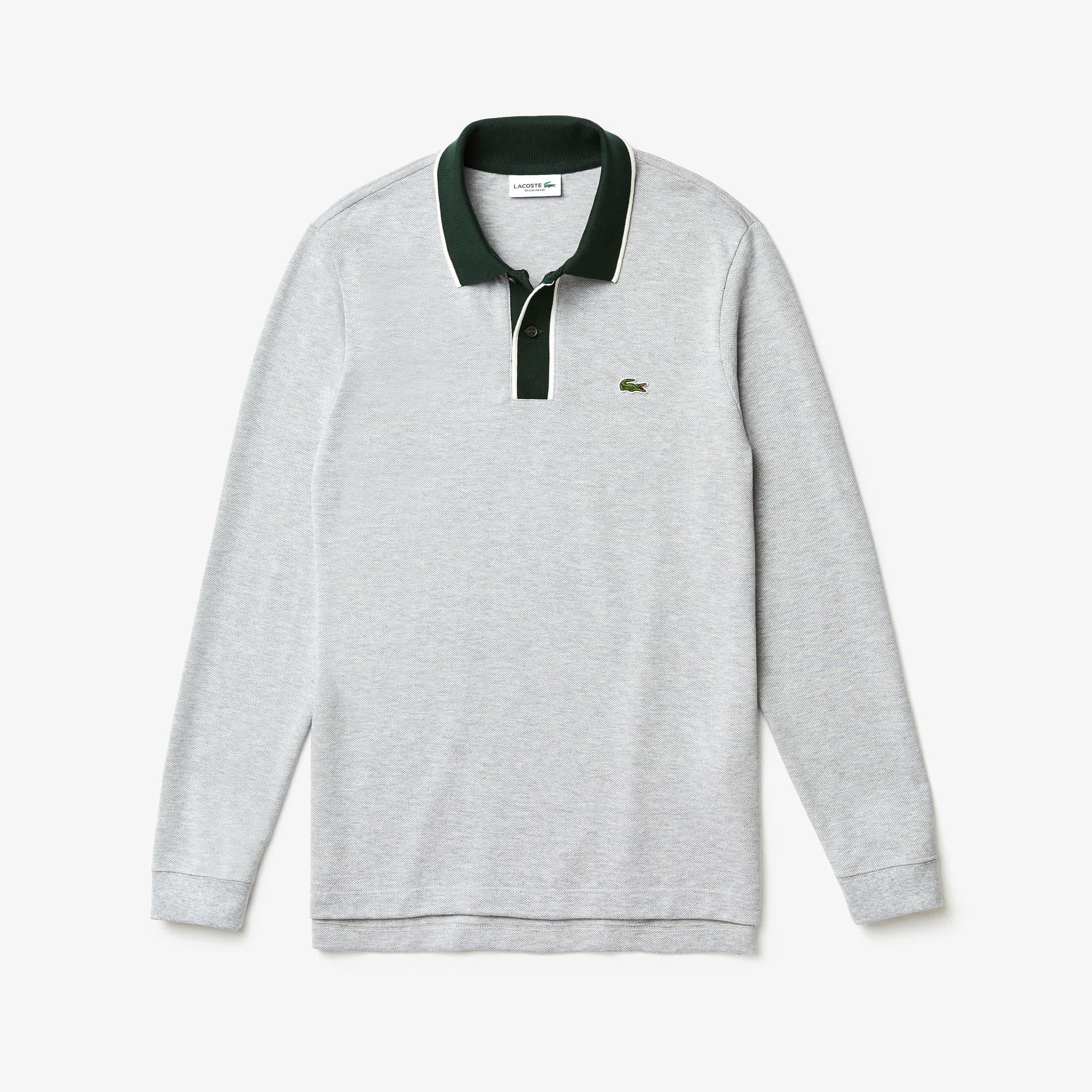 Men's Regular Fit Cotton Piqué Polo Shirt