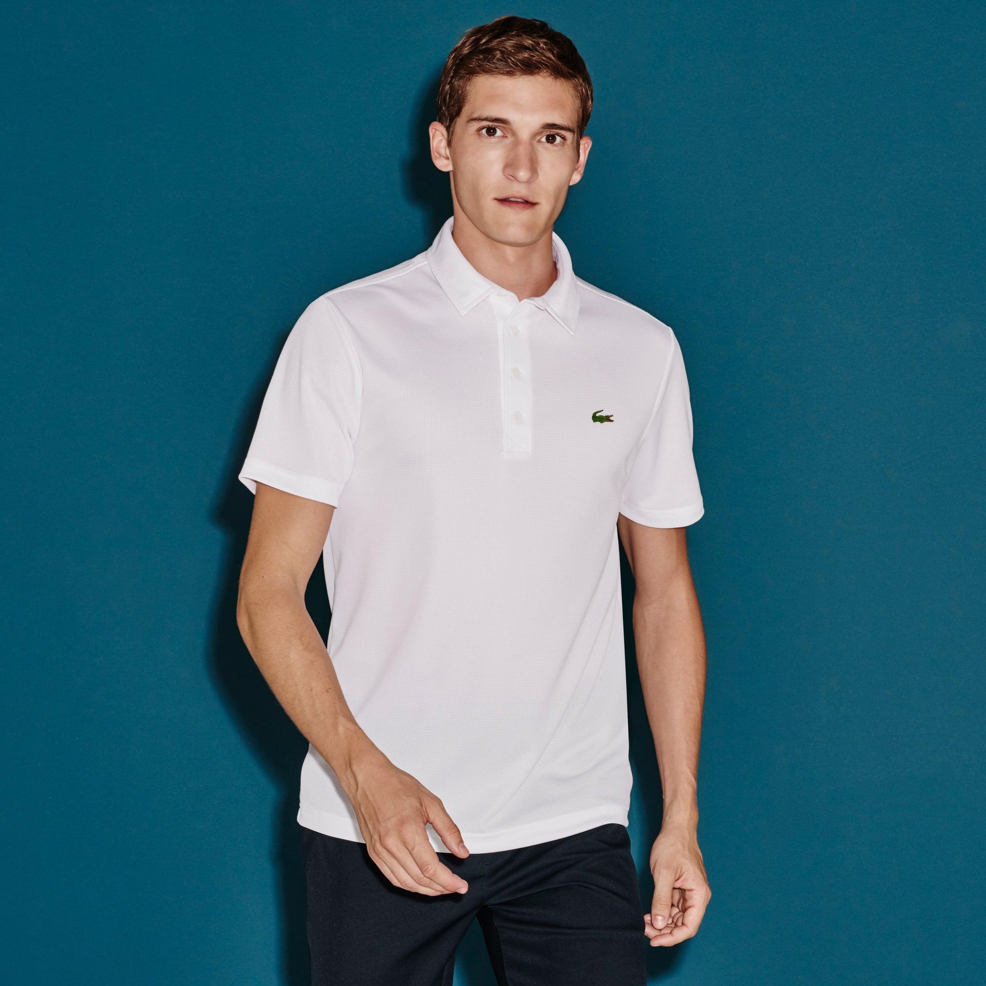 Men's SPORT Regular Fit Ultra Dry Textured Golf Polo Shirt