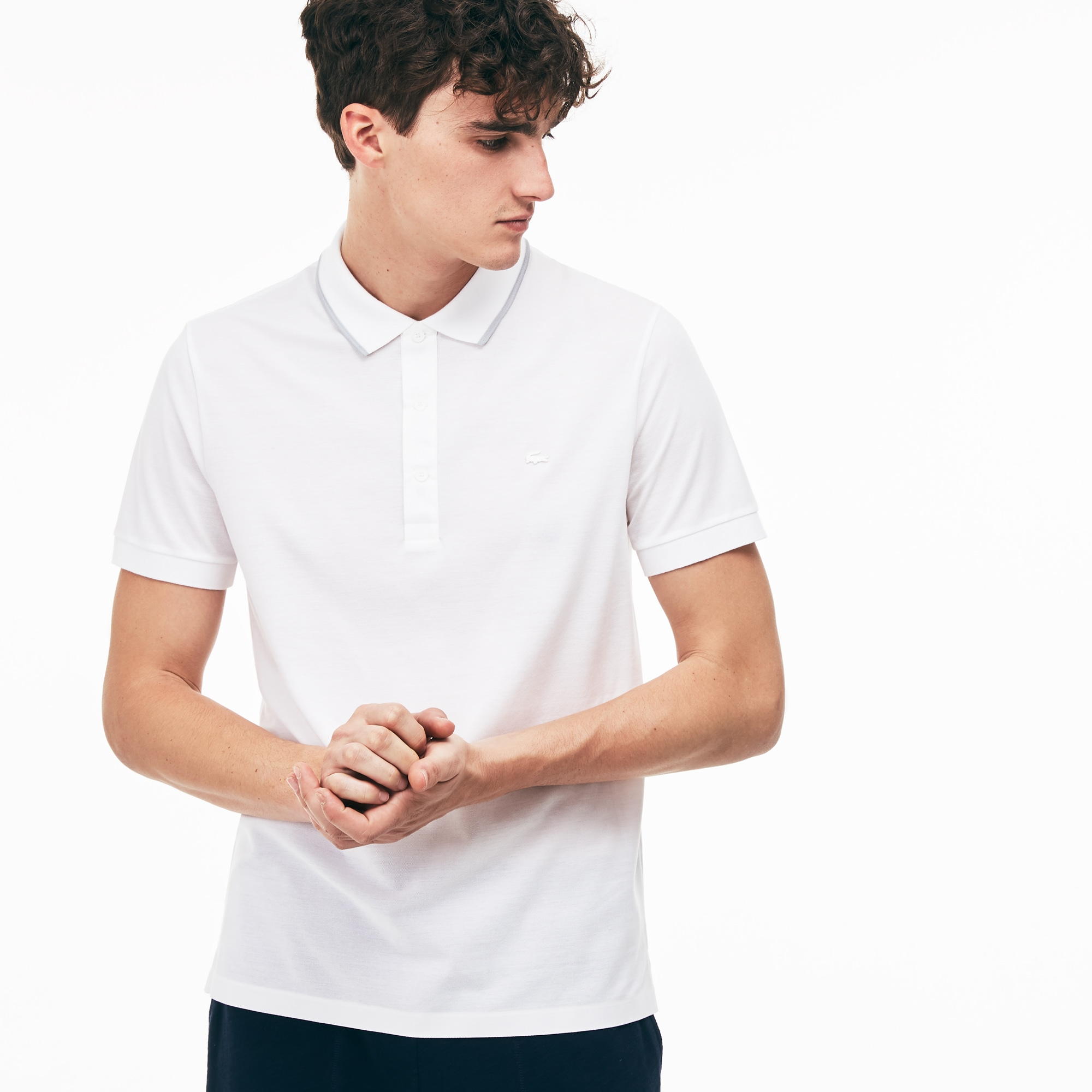 Men's MOTION Regular Fit Pima Cotton Piqué Polo