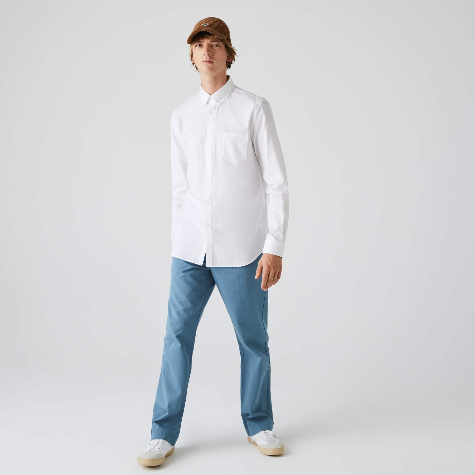 8c5e4203 Men's Regular Fit Cotton Mini Piqué Shirt
