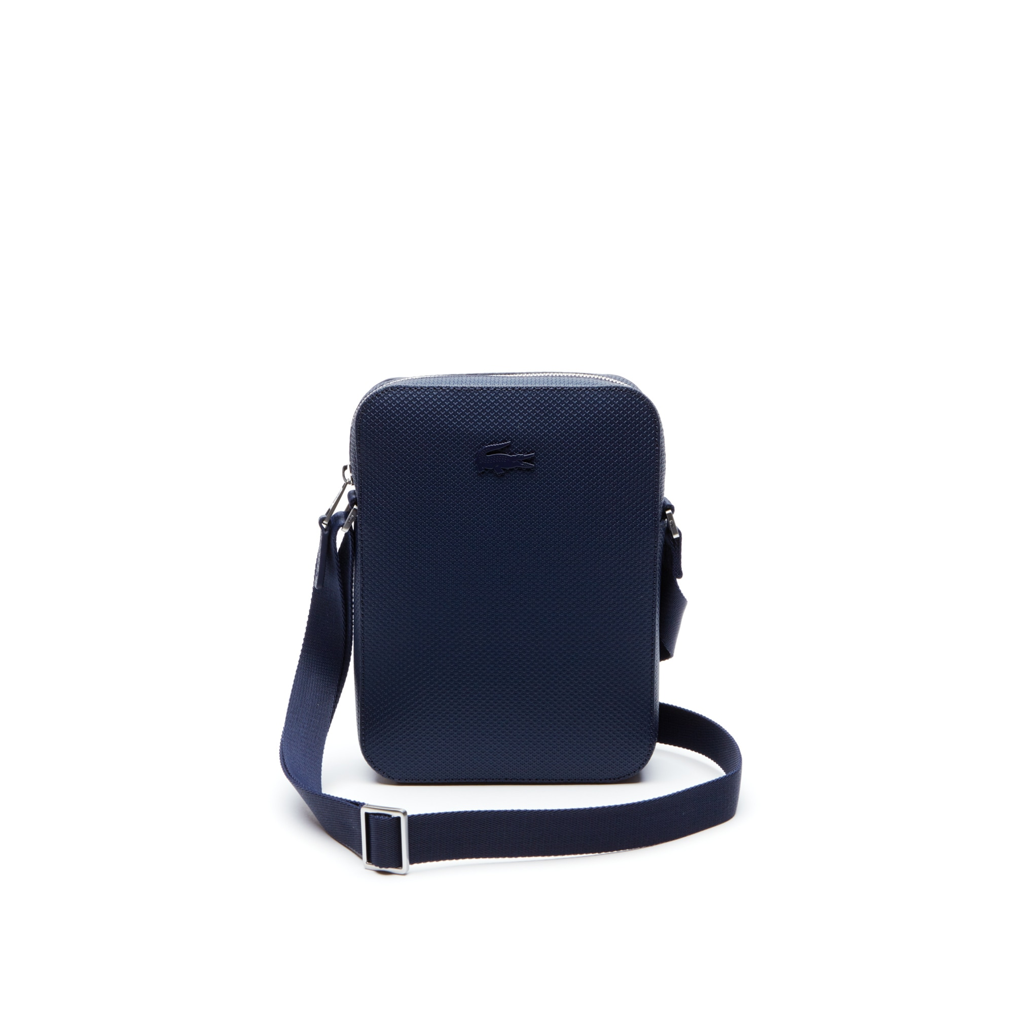 788a4fa76 Men's Chantaco Vertical Matte Piqué Leather Bag | LACOSTE