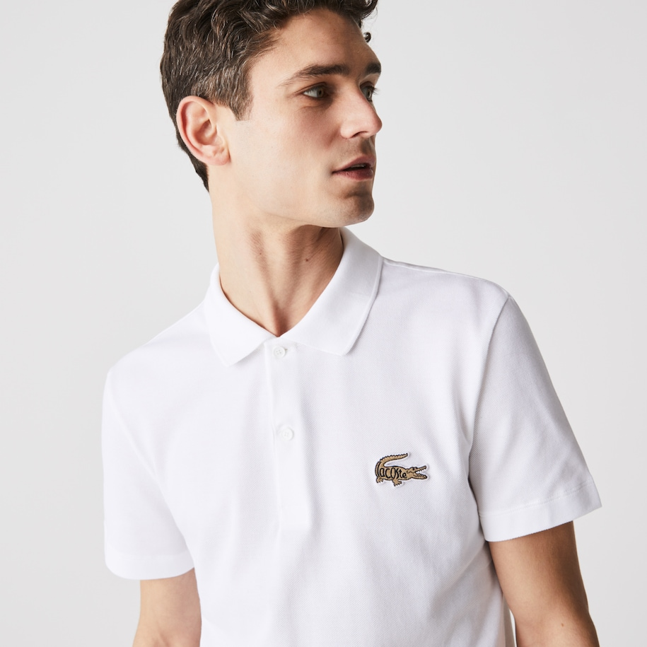 Men's Regular Fit Cotton Piqué Polo