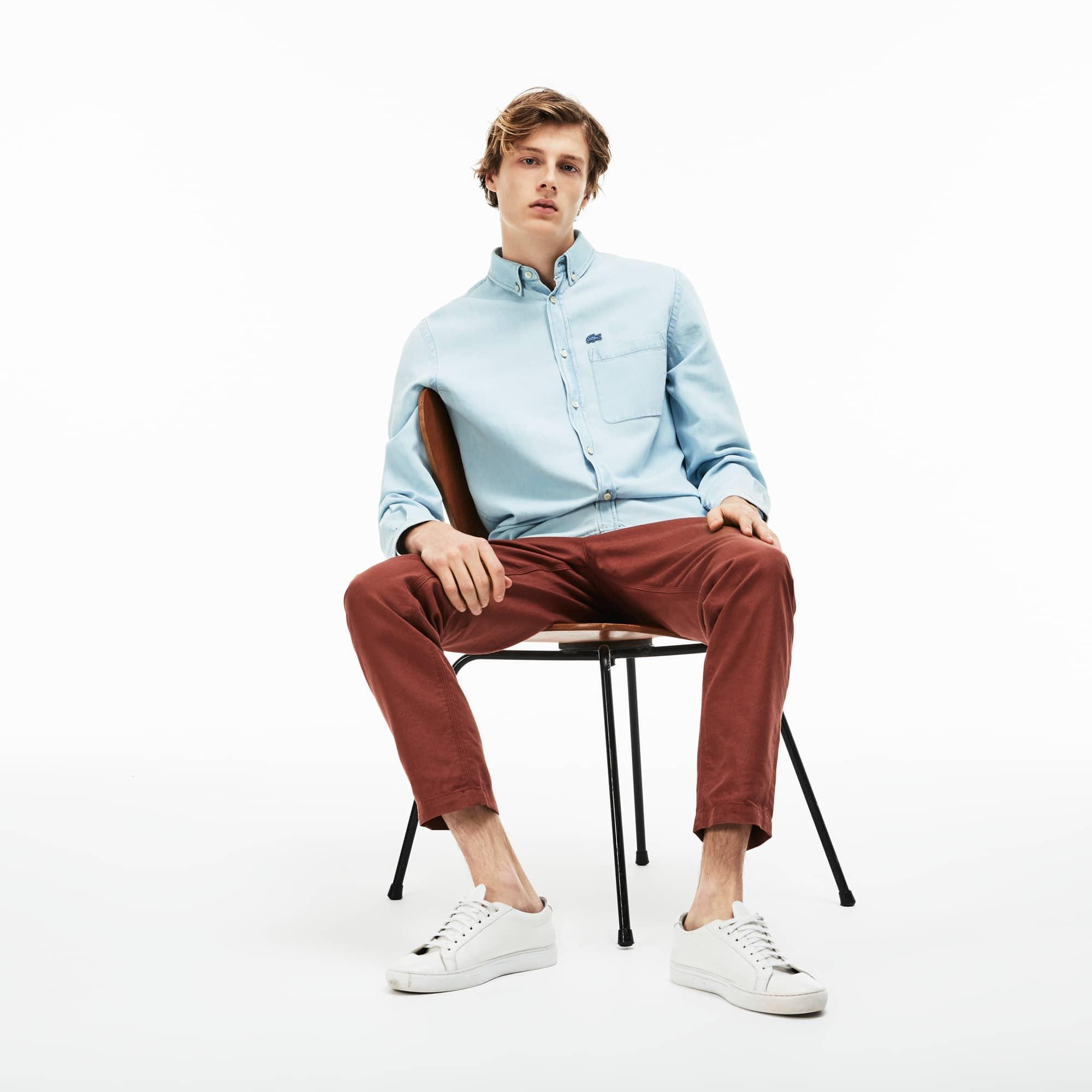 Men's Regular Fit Denim Shirt