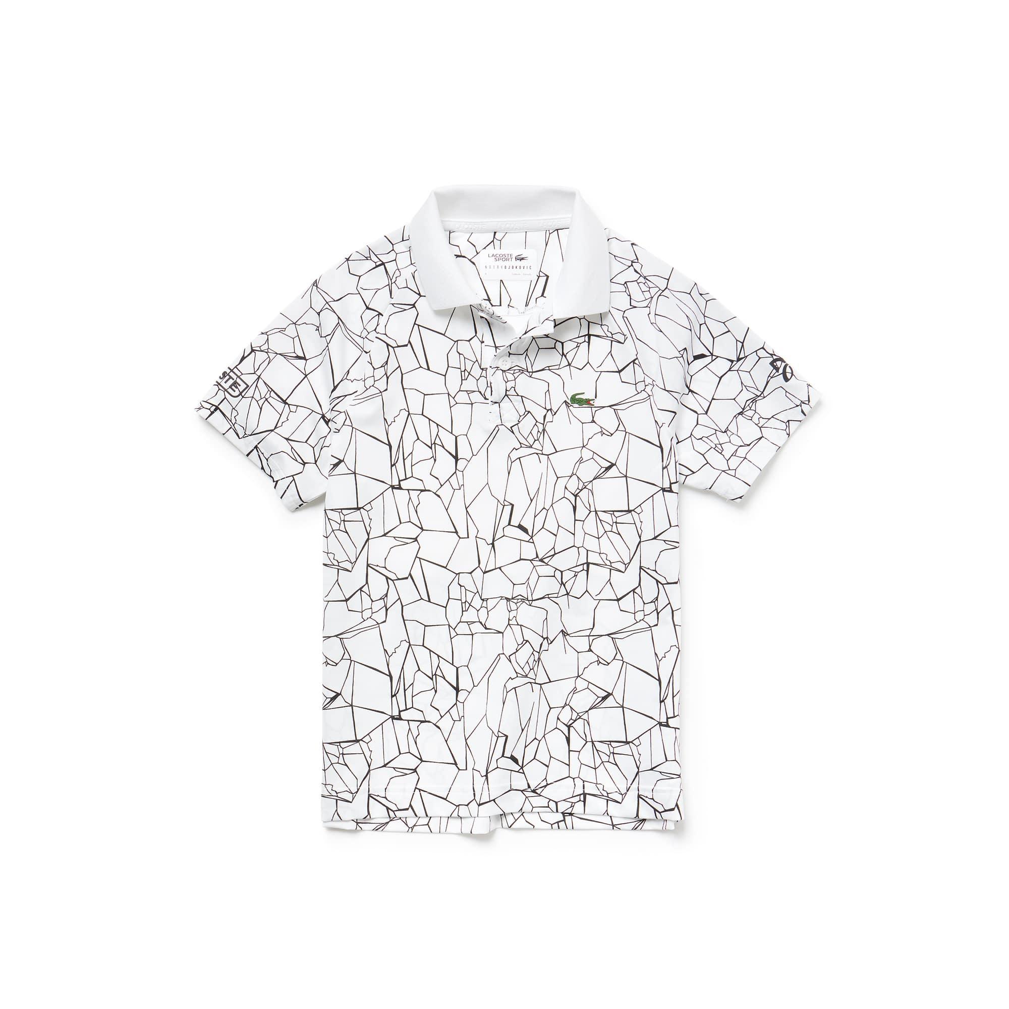 421232e4edeb Boys  SPORT Print Technical Jersey Polo- x Novak Djokovic Off Court Premium  Edition ...