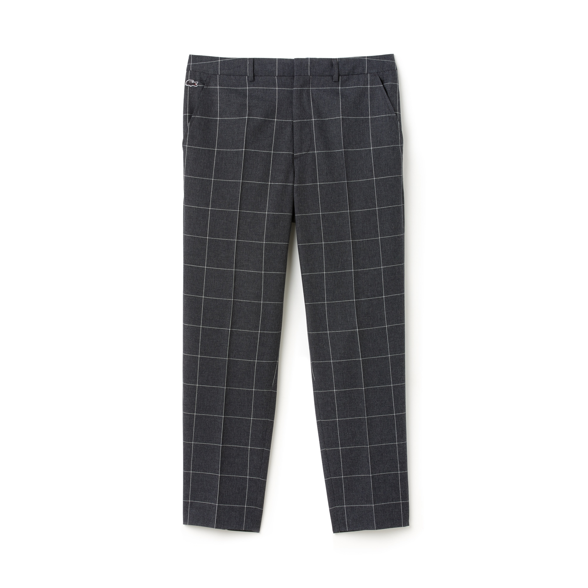 Men's Lacoste LIVE Check Flannel Chino Pants