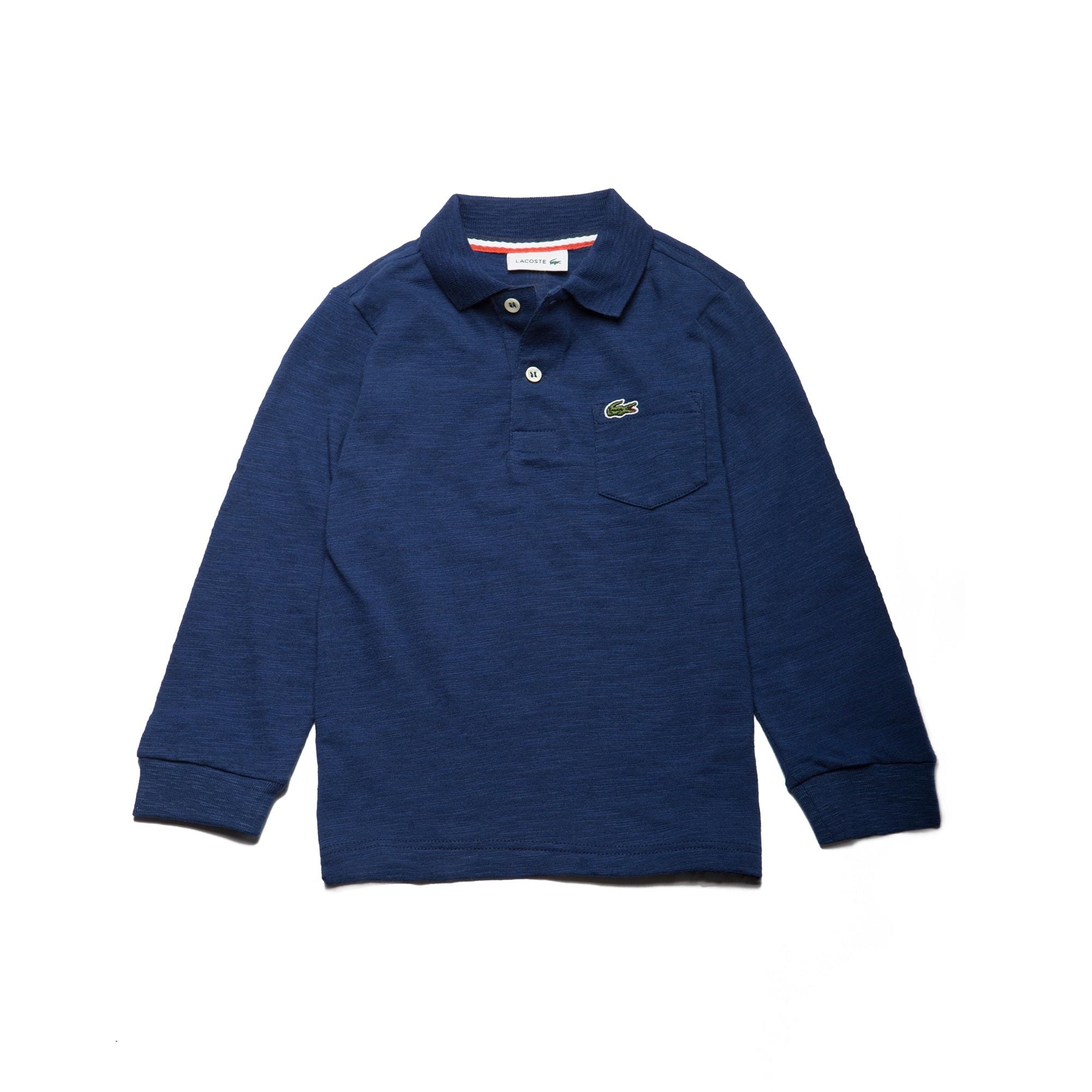Boys' Jersey Polo