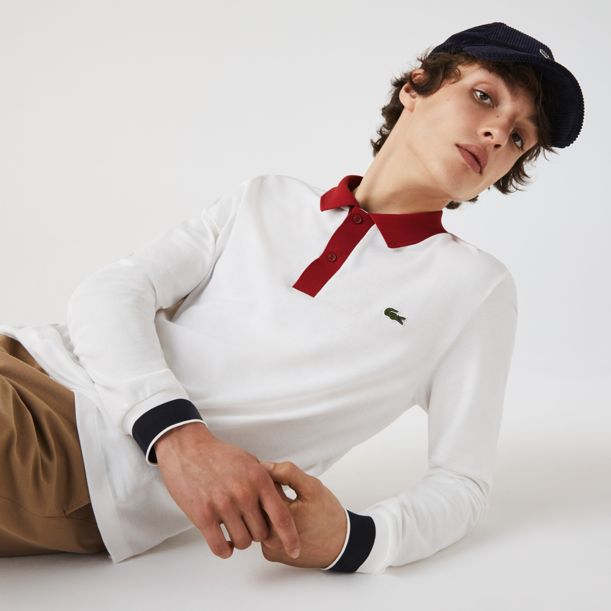 Mens Lacoste Regular Fit Made in France Polo Shirt