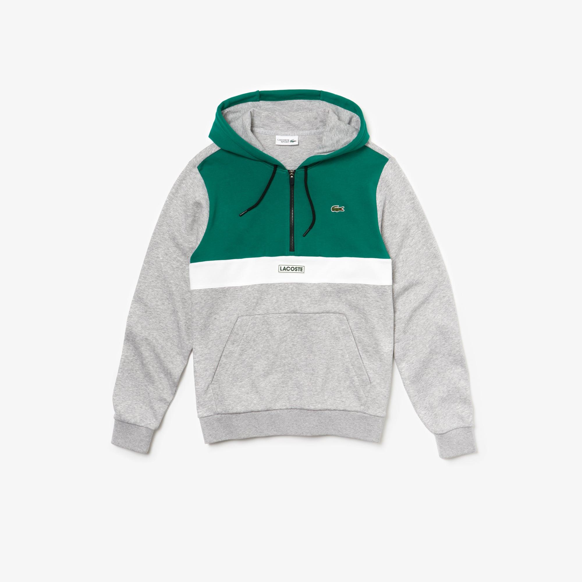 bb309a2028f Men's SPORT Hooded Fleece Sweatshirt | LACOSTE