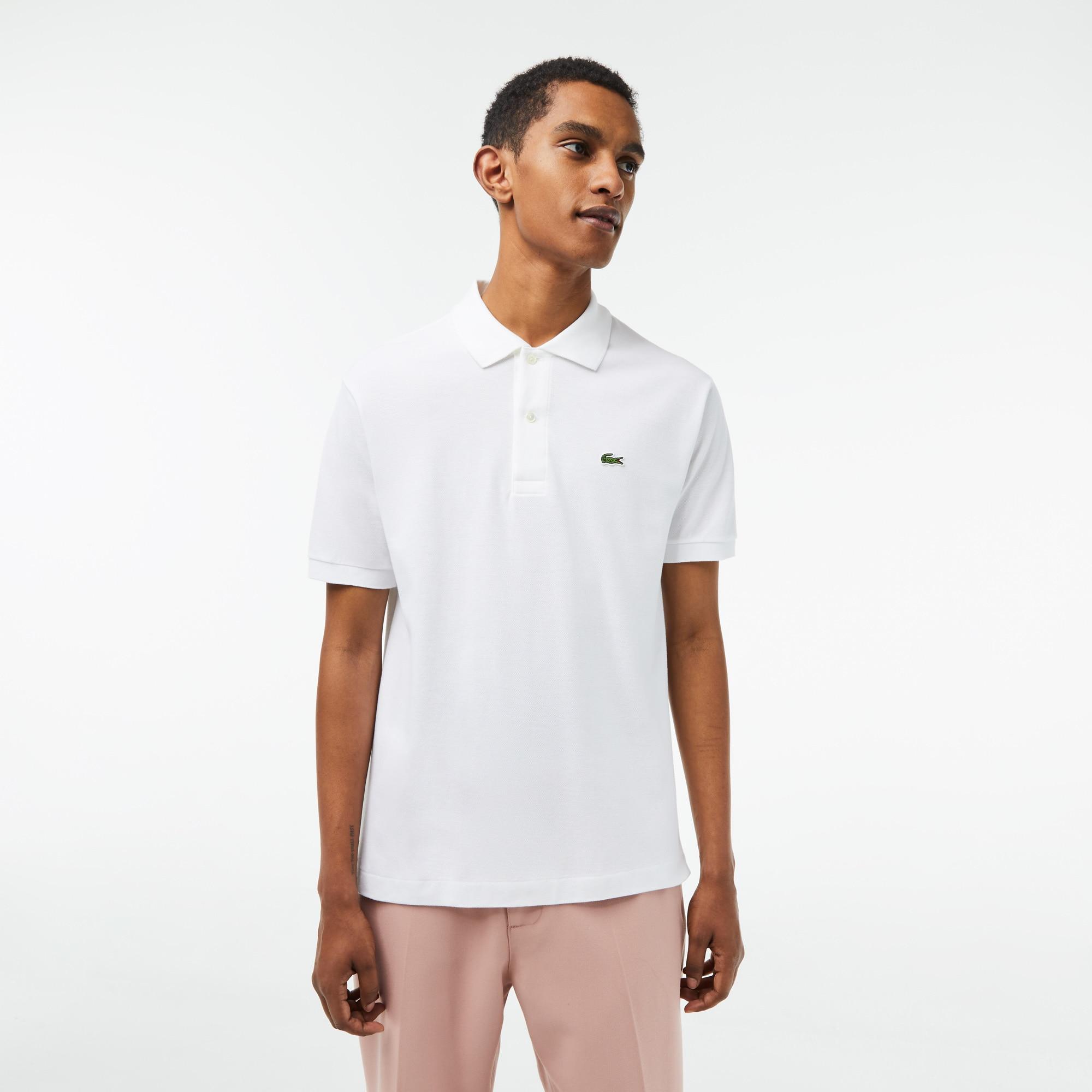 라코스테 Lacoste Mens Classic Fit L.12.12 Polo Shirt