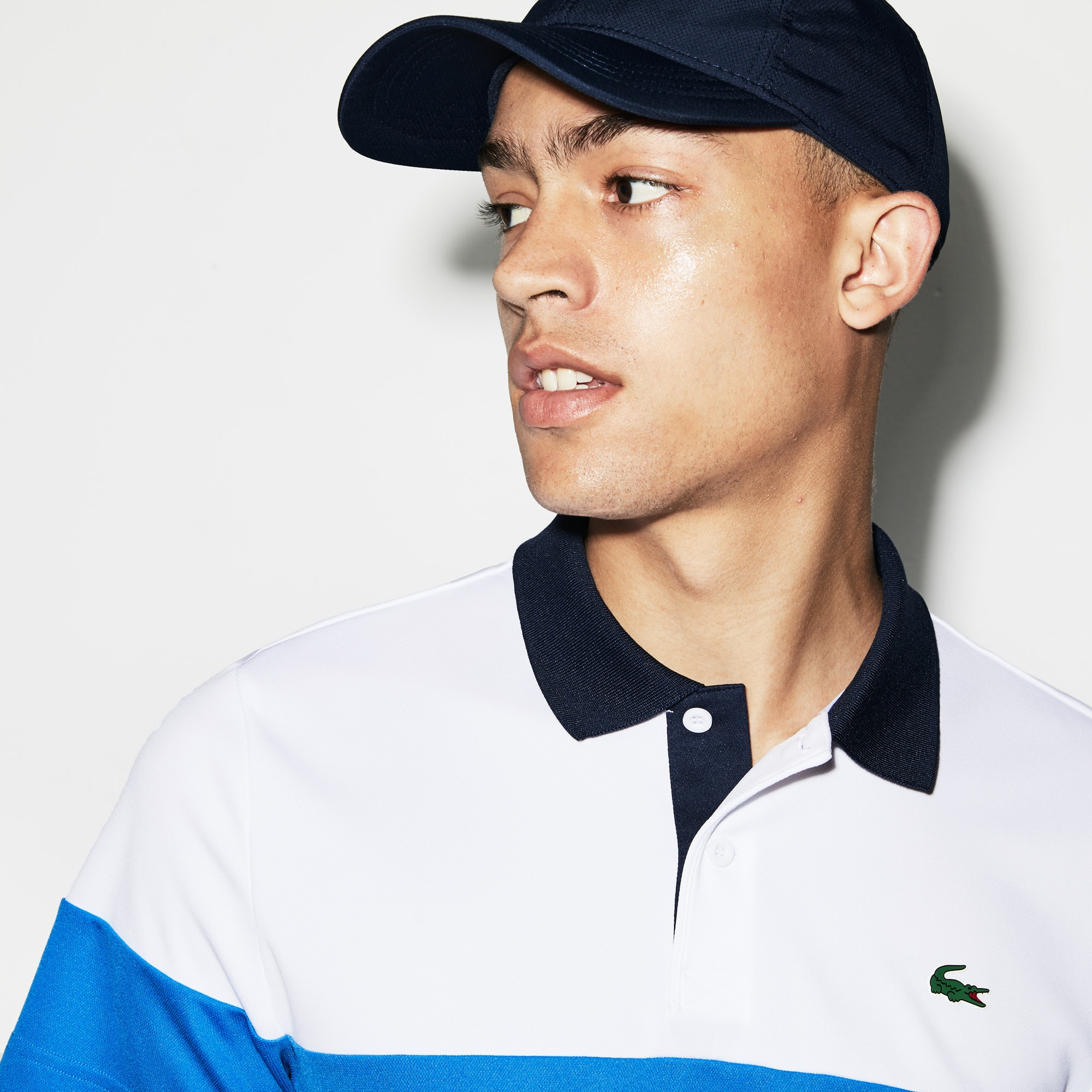 Men's SPORT Breathable Piqué Tennis Polo