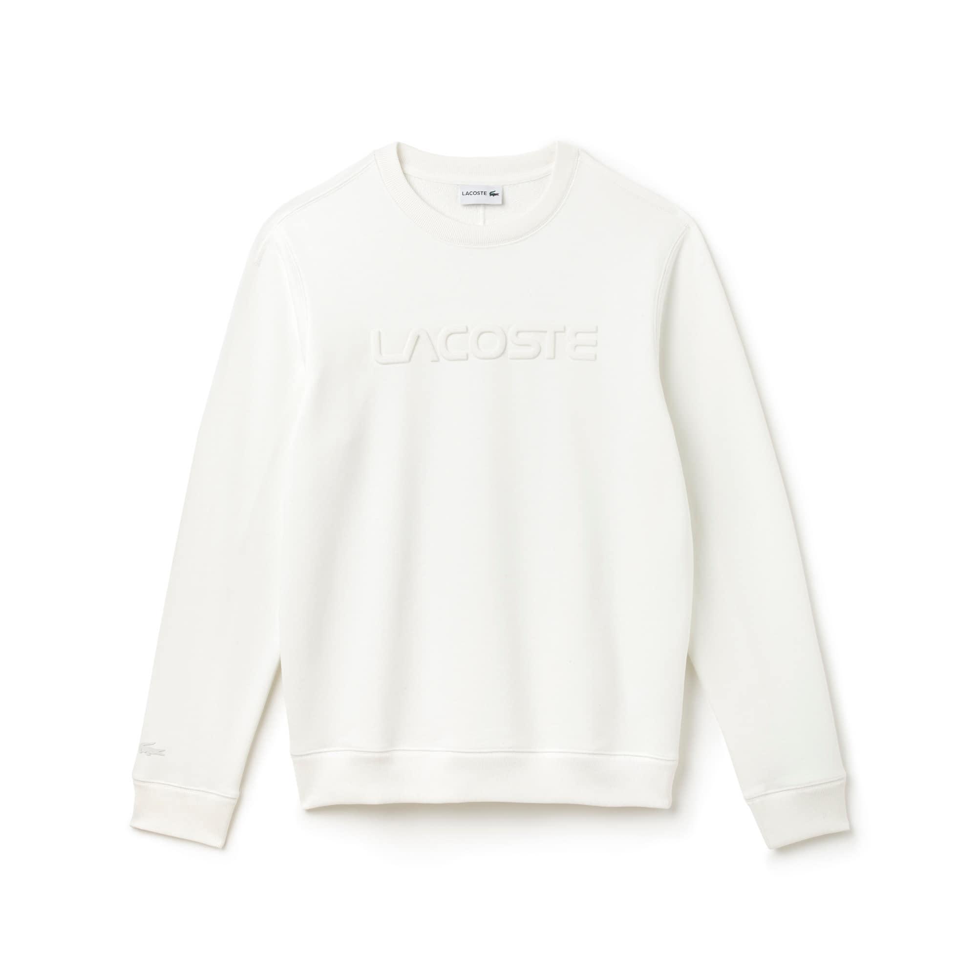 Men's LACOSTE Lettering Fleece Sweatshirt