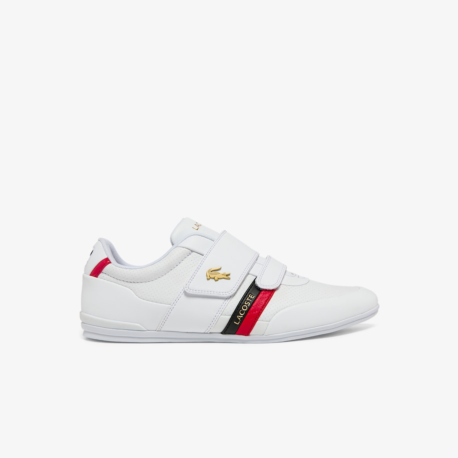 Men's Misano Strap Leather and Synthetic Trainers