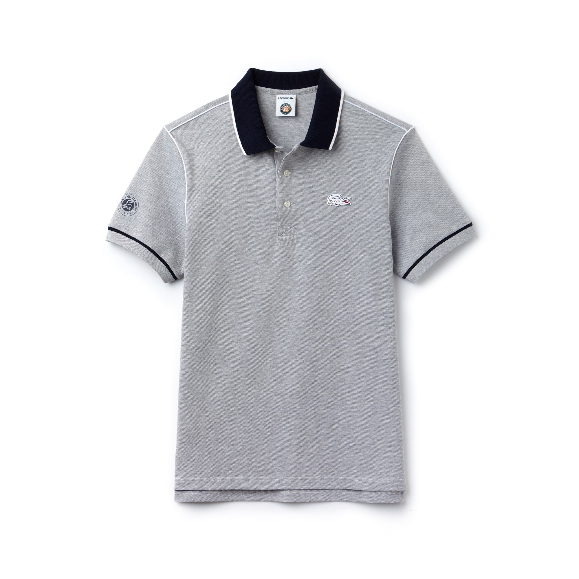 Men's SPORT Roland Garros Edition Piped Piqué Polo