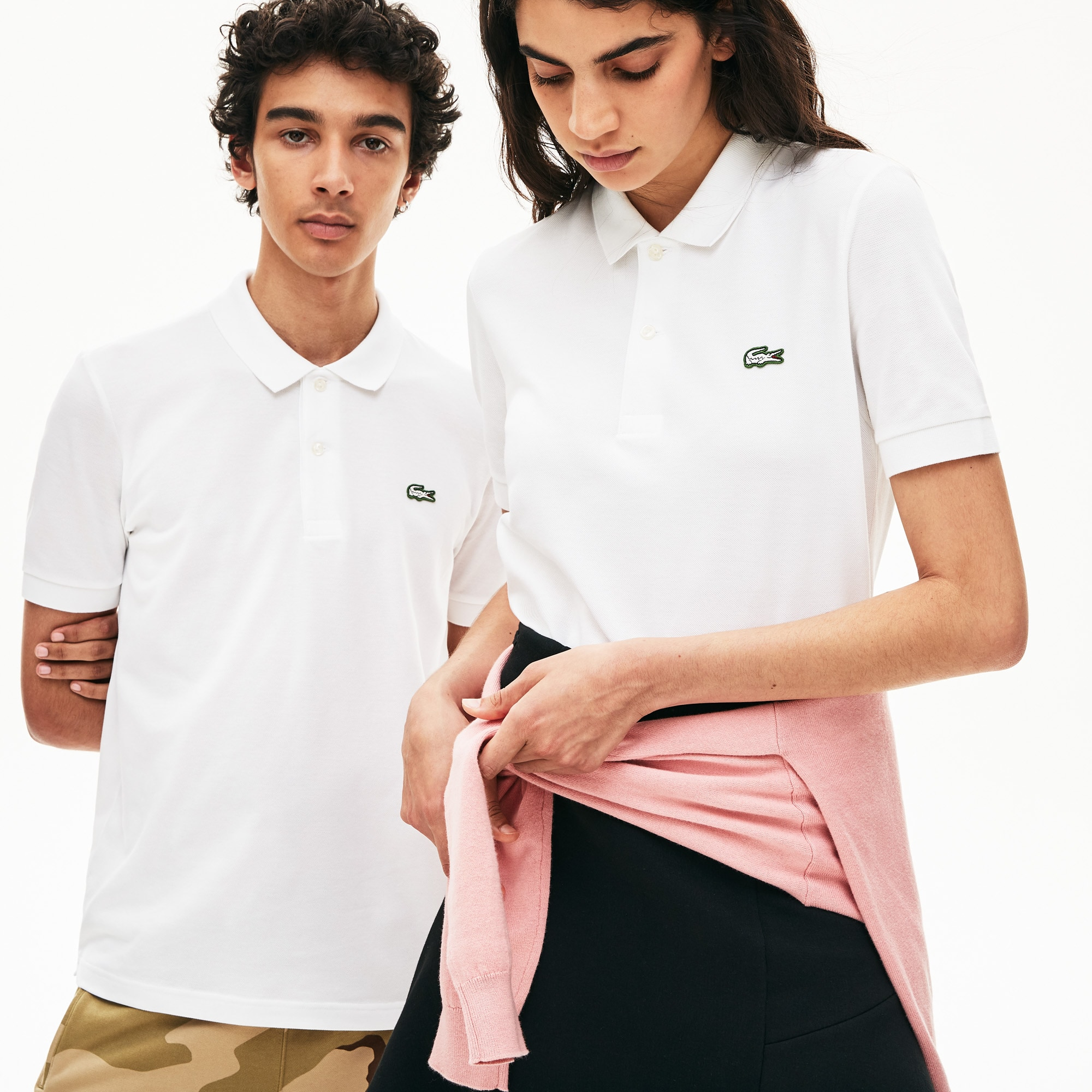 Unisex LIVE Slim Fit Stretch Cotton Piqué Polo