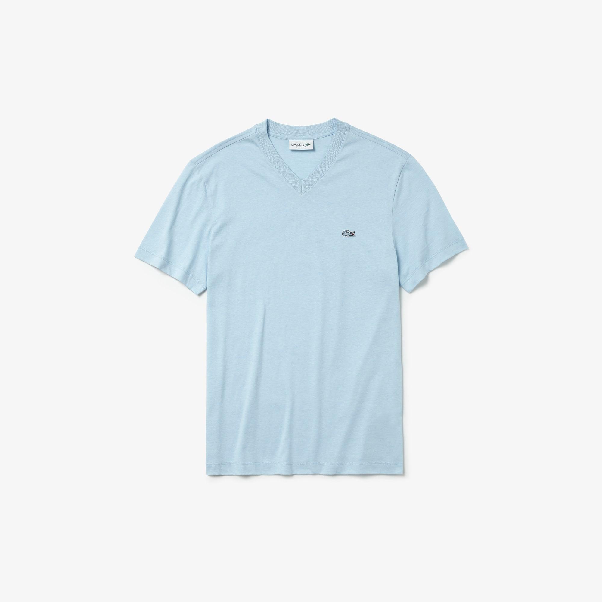 Men's V-Neck Cotton T-shirt