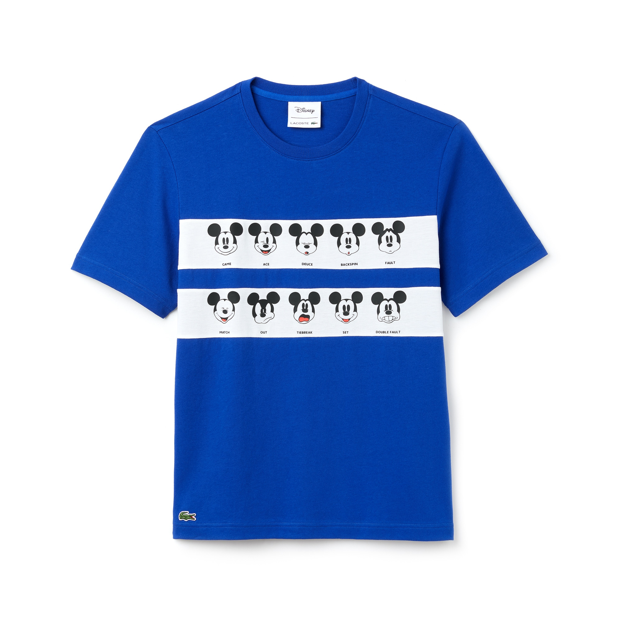 Men's Disney Mickey Graphic Band Cotton Jersey T-shirt