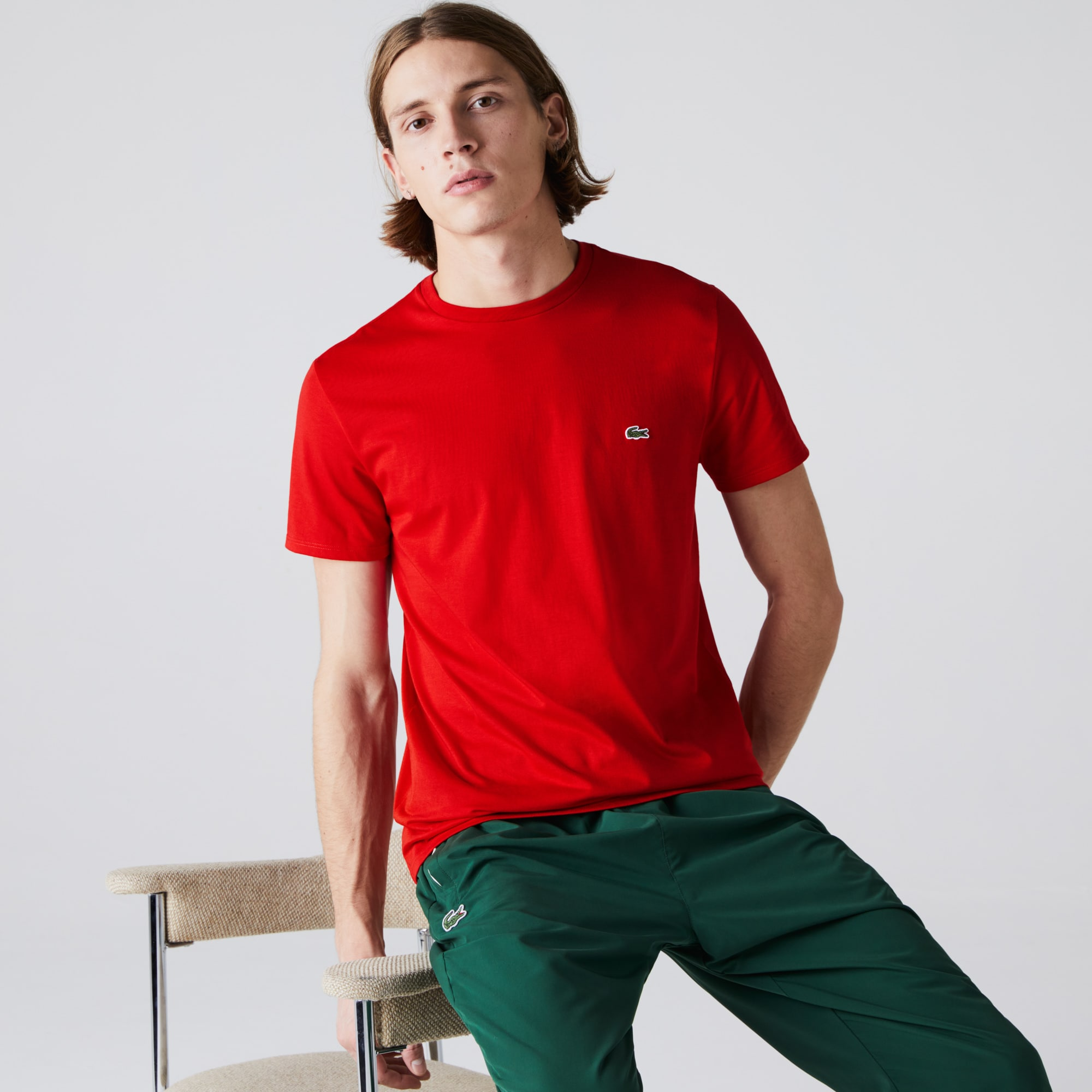 Men's Crew Neck Pima Cotton T-Shirt