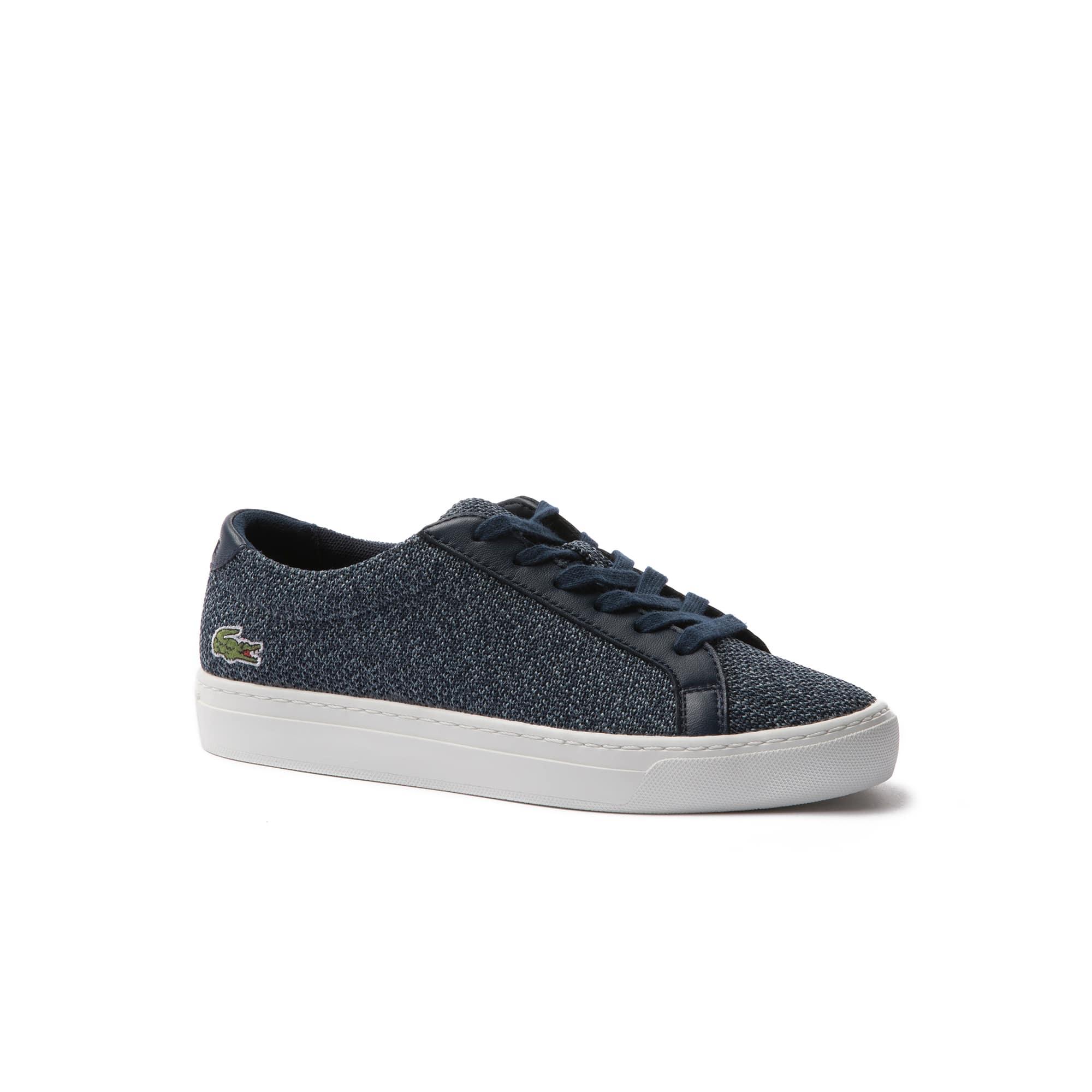 Kids' L.12.12 Piqué Sneakers