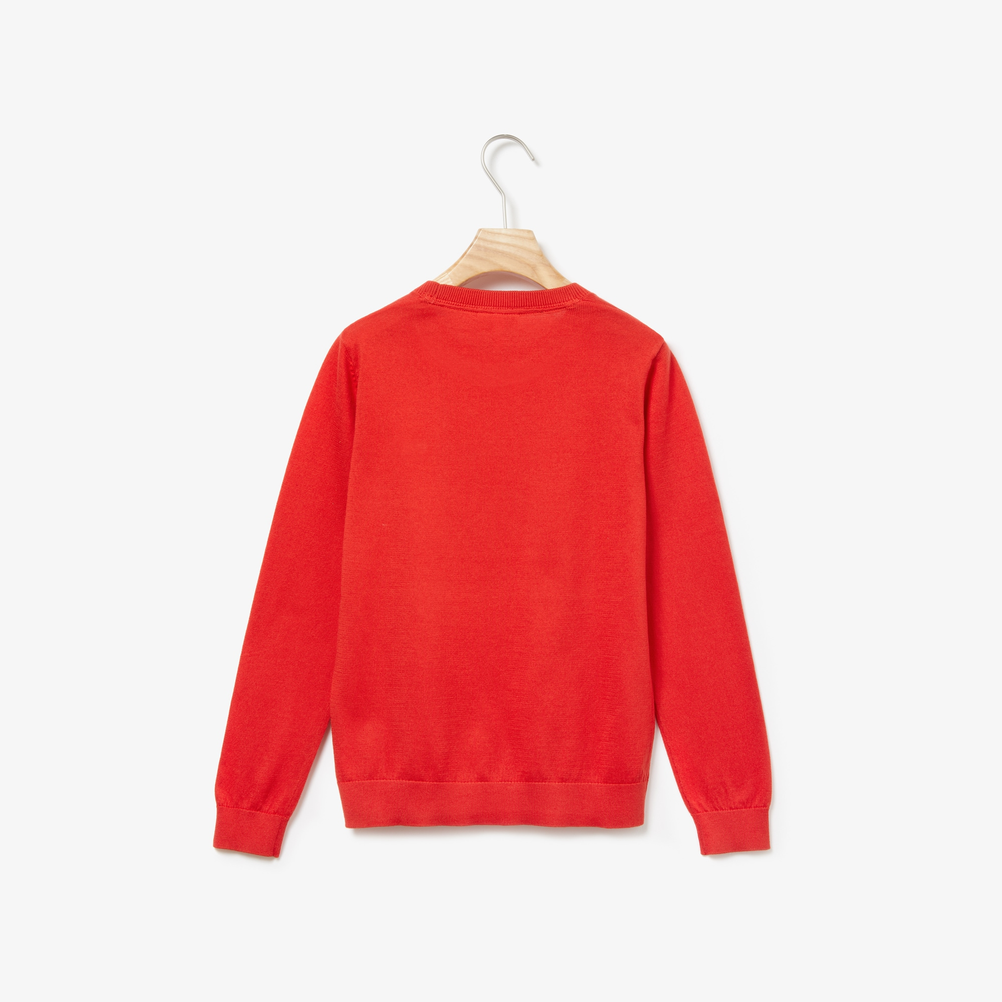 Boys' Crew Neck Cotton Jersey Sweater