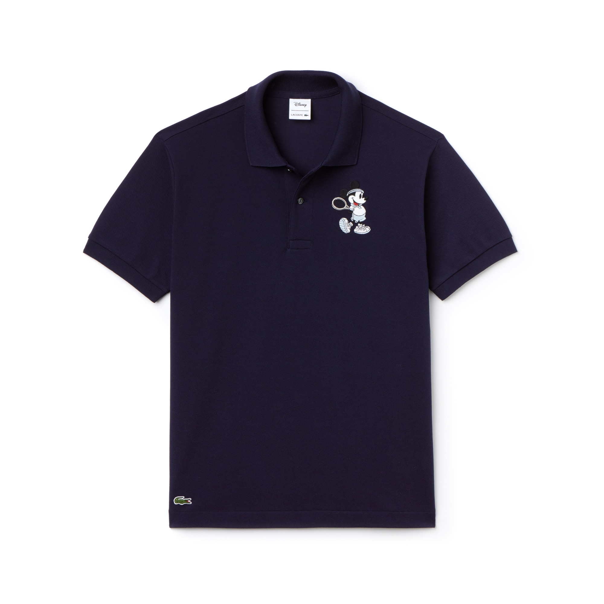 Men's L.12.12 Lacoste Disney Mickey Embroidery Petit Piqué Polo