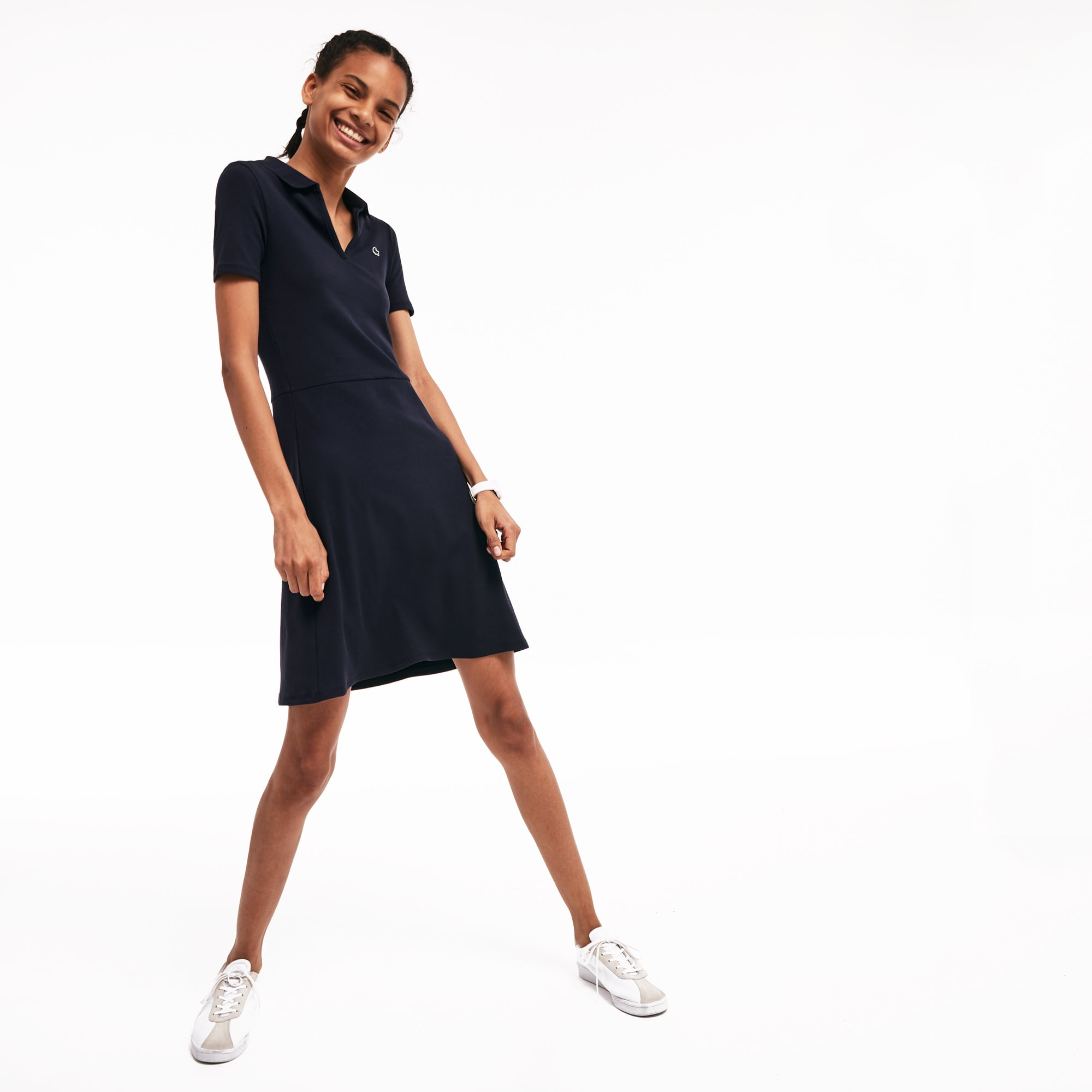 Women's LIVE Cotton Blend Polo Dress