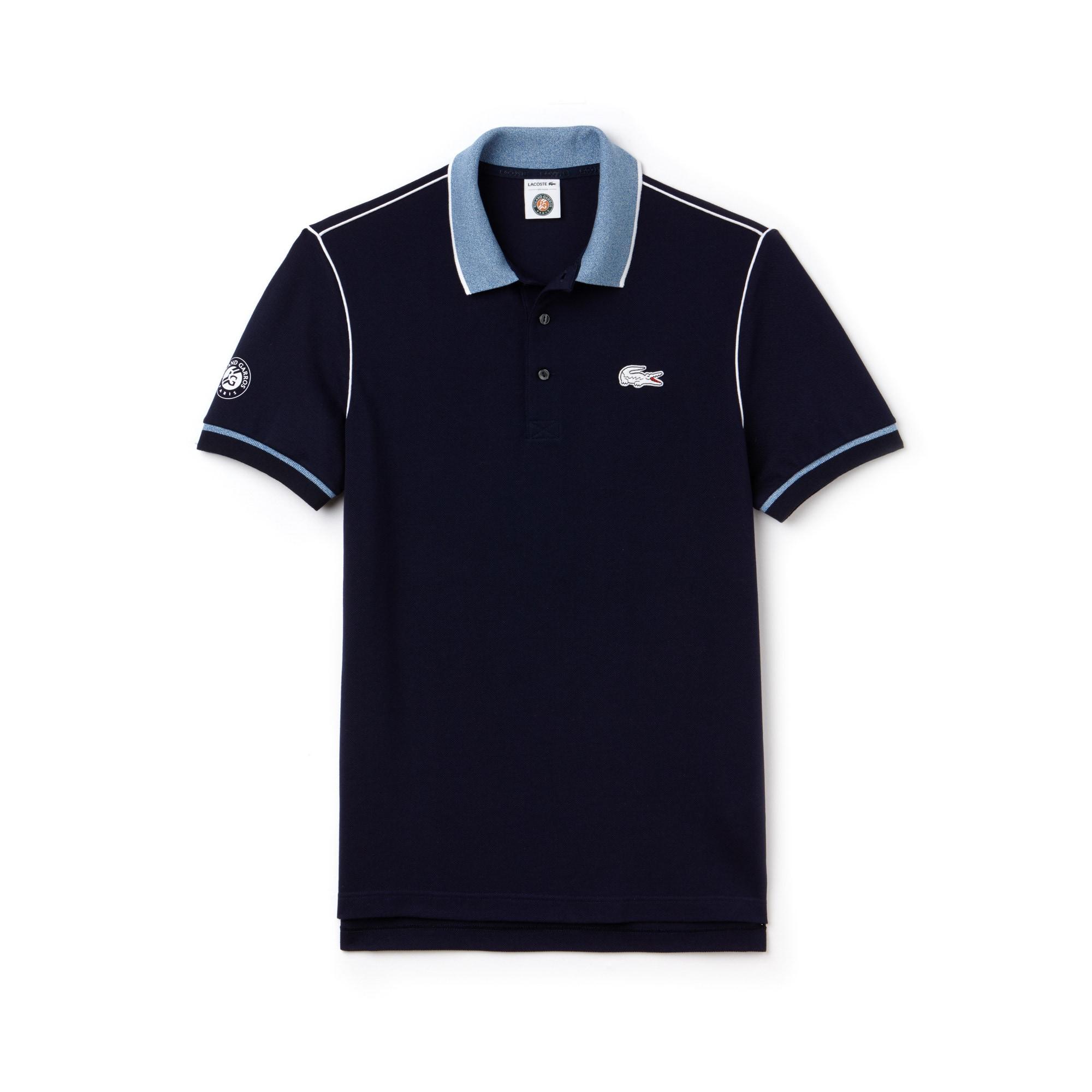 Men's SPORT Roland Garros Edition Piped Piqué Polo