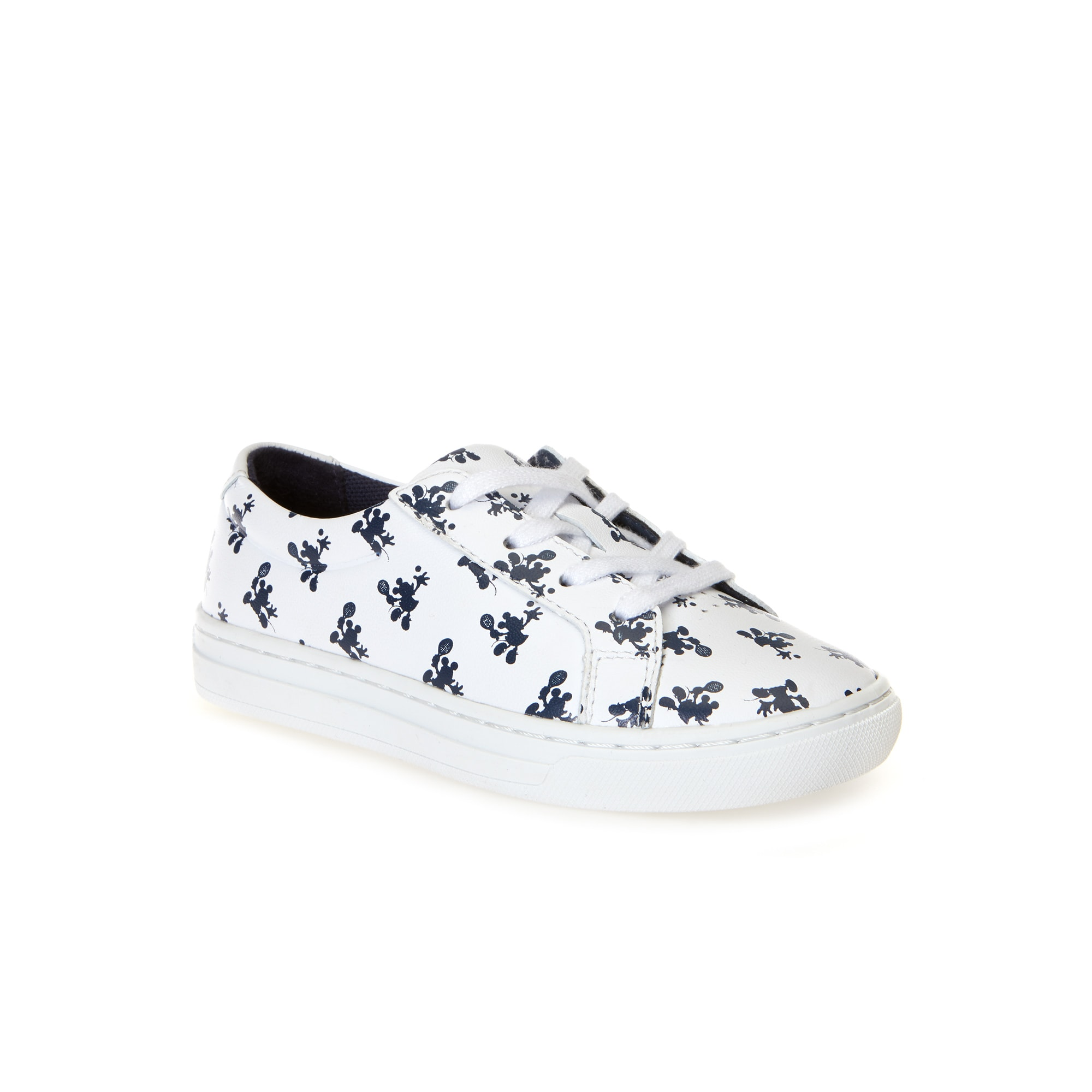 Infants L.12.12 Lacoste Disney Mickey Trainers