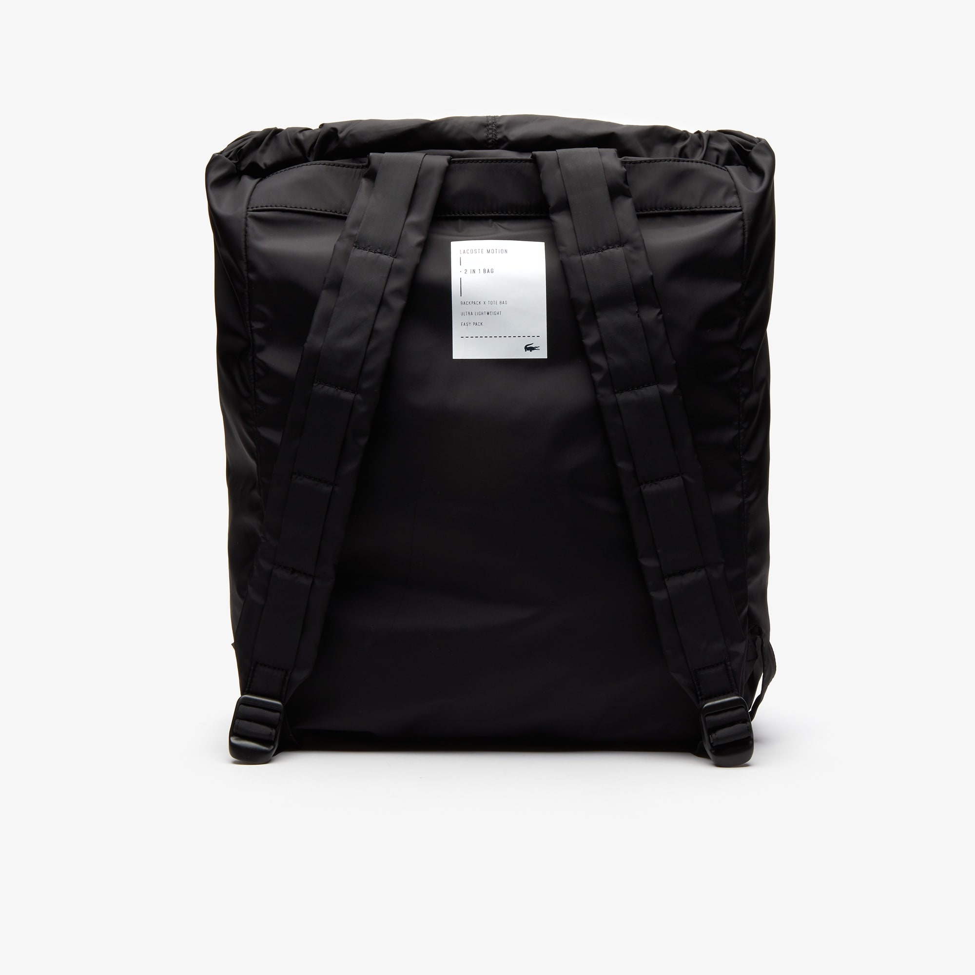 b68230938b Men's Lacoste Motion Collapsible Backpack Tote Bag