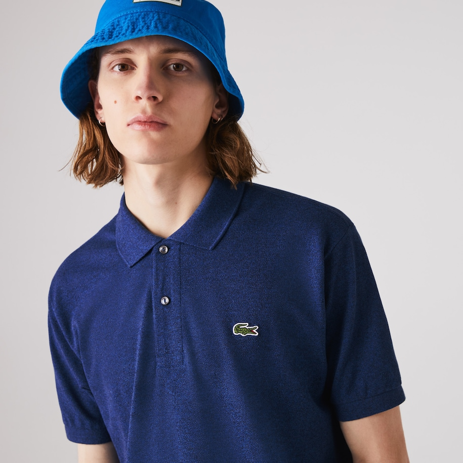 Men's Marl Fabric L.12.12 Polo