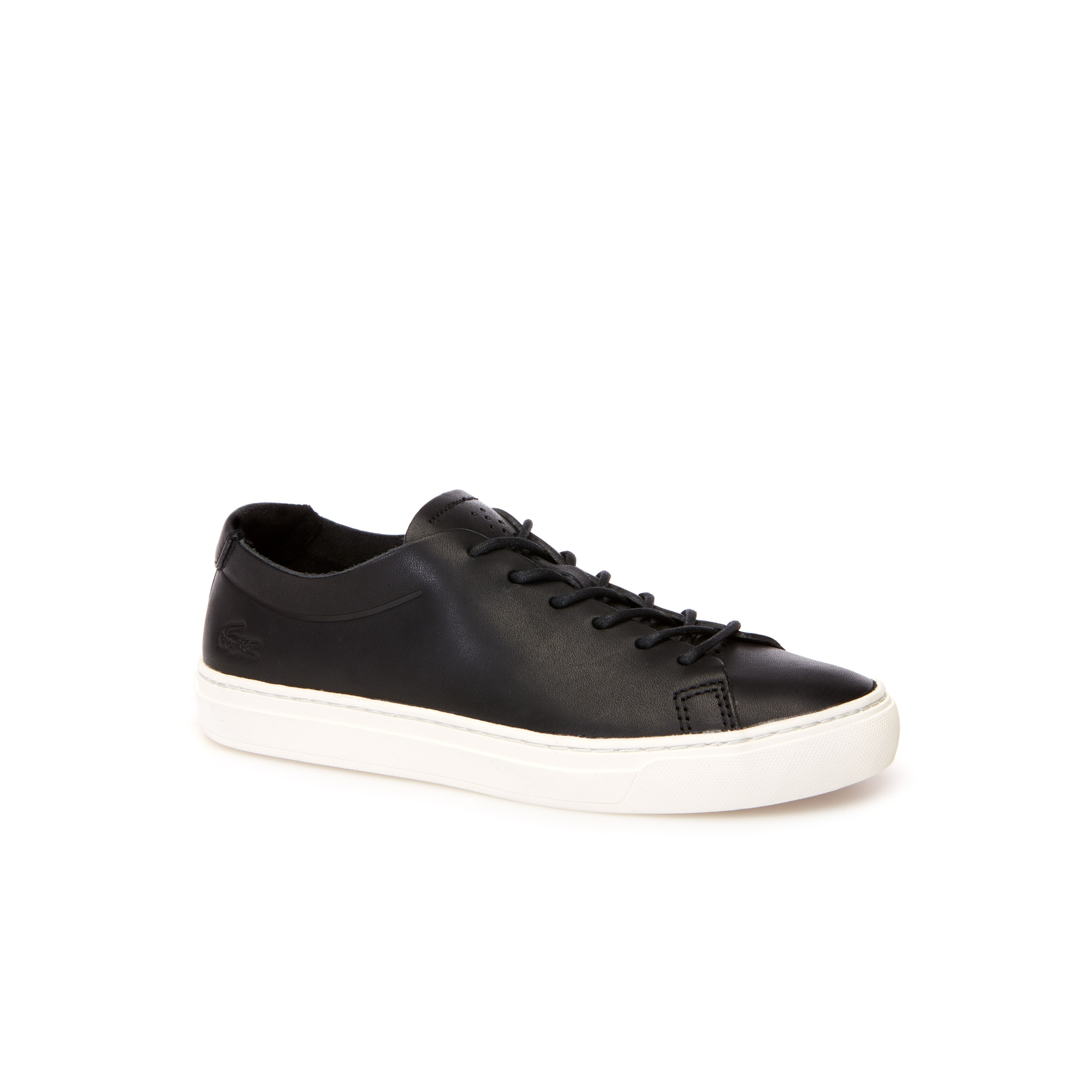 Women's L.12.12 Unlined Monochrome Leather Trainers