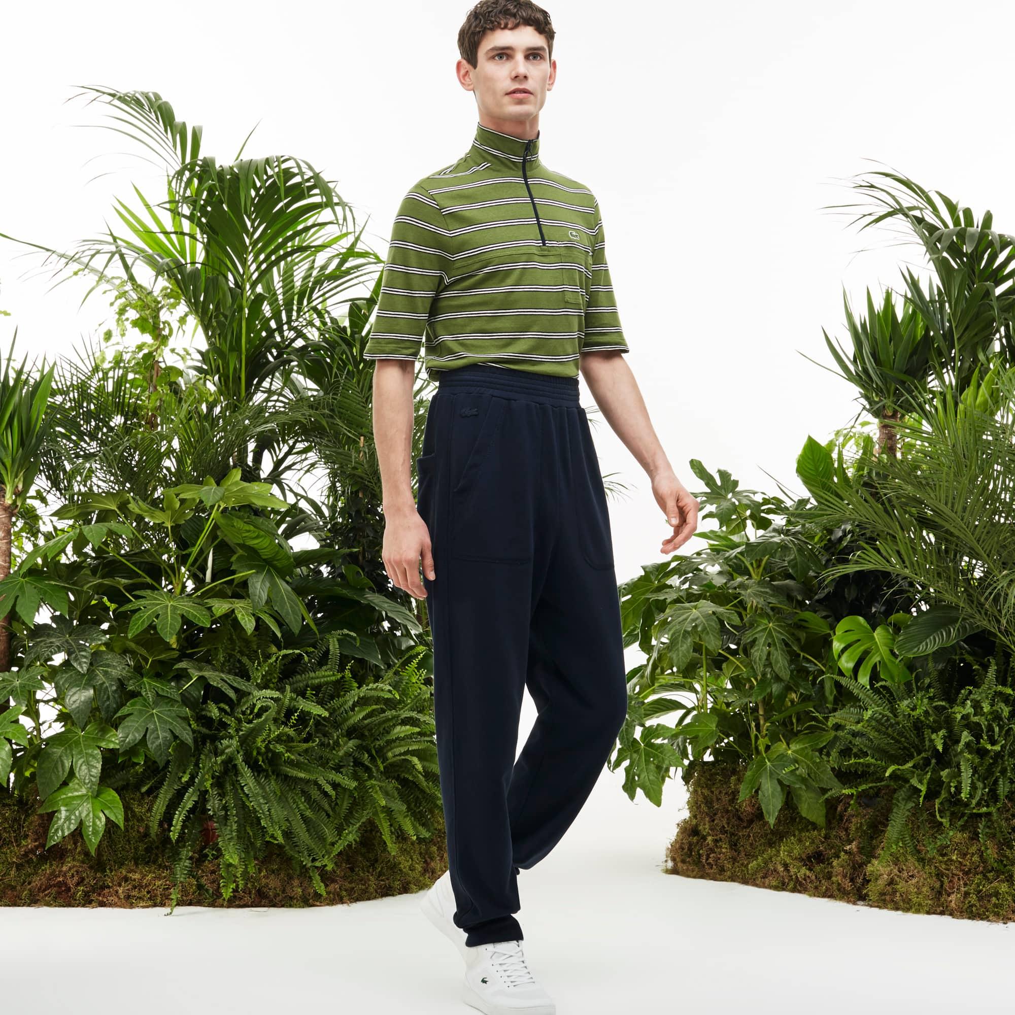 Men's Fashion Show Flowing Fleece Trackpants