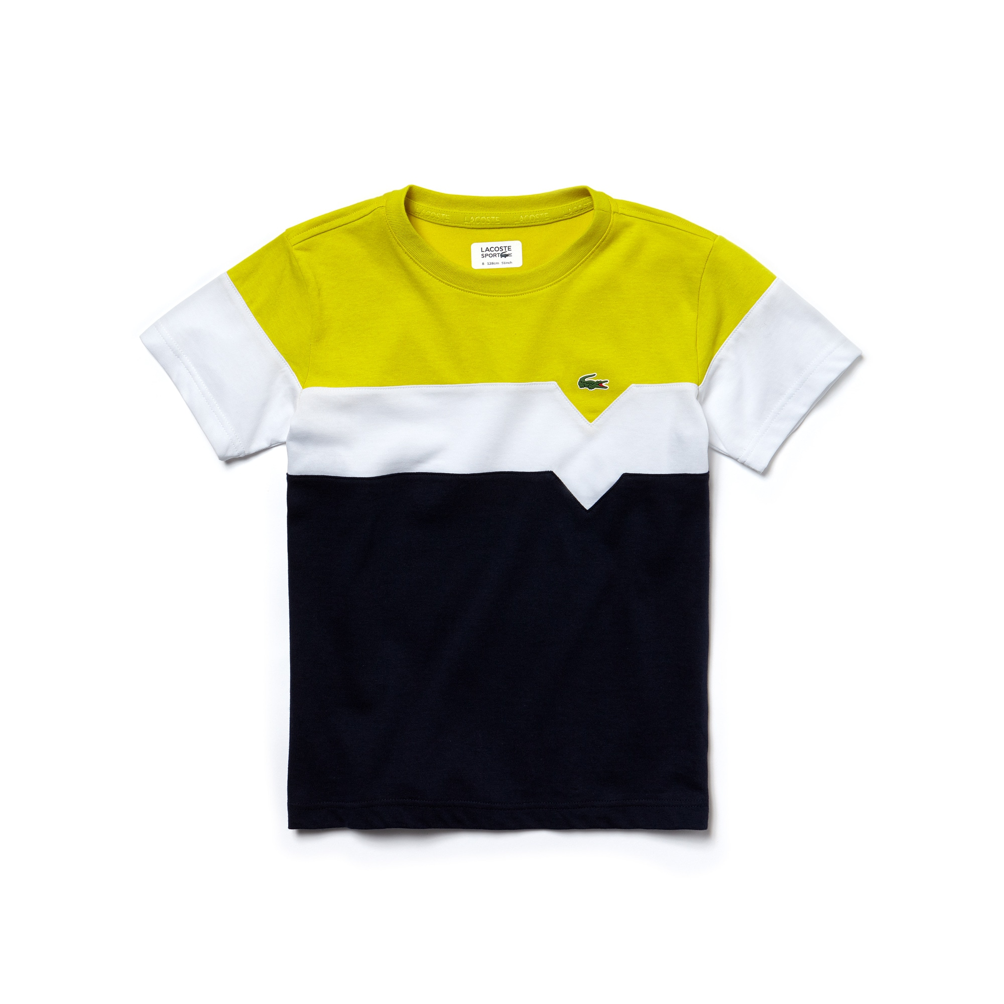 Boys'  SPORT Tennis Colorblock Tech Jersey T-shirt
