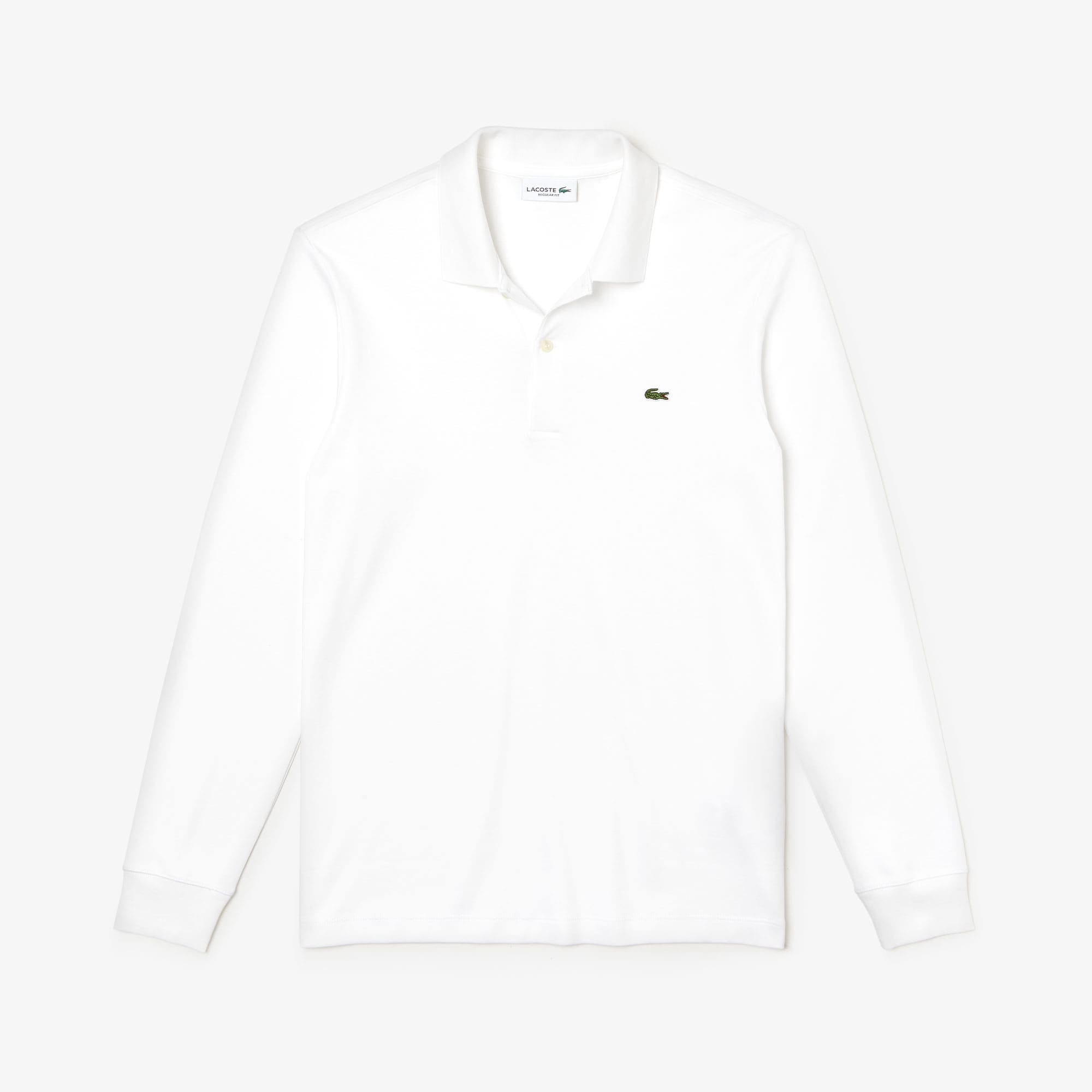 Men's Long Sleeve Pima Cotton Polo
