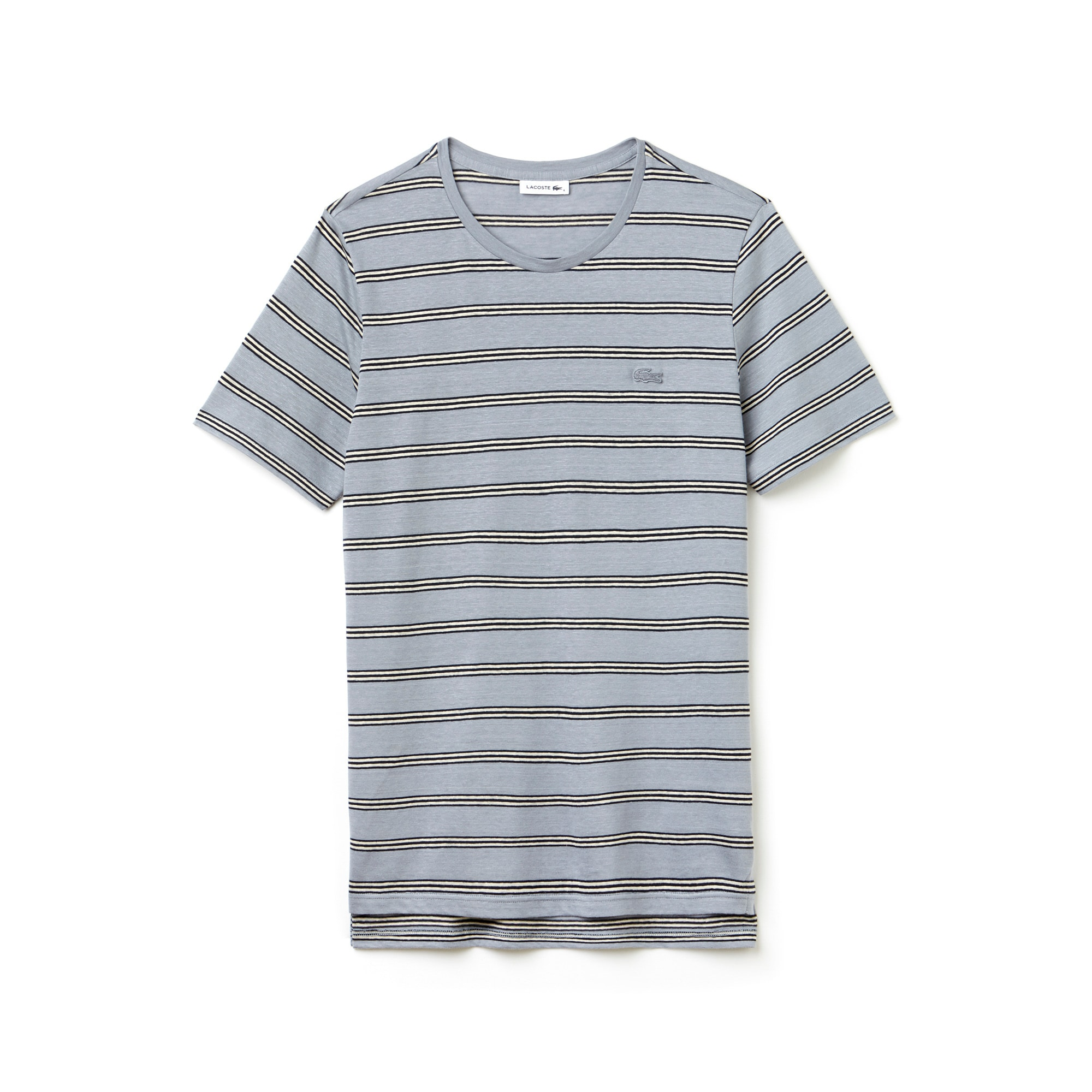 Men's Fashion Show Jersey Striped T-Shirt | LACOSTE