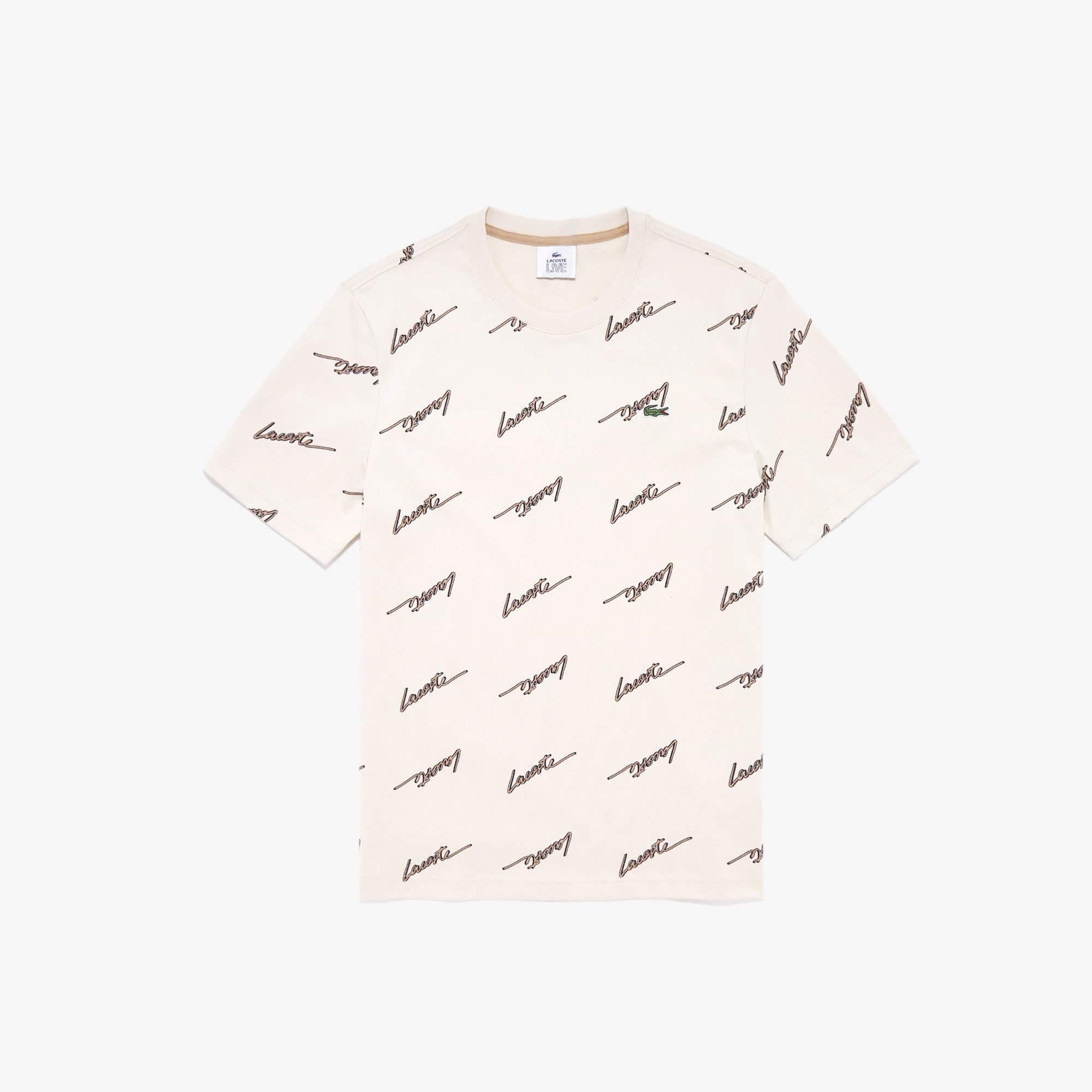 2XL Lacoste Live Signature Cotton T-Shirt # TH8100 51 KBR Black Men SZ M