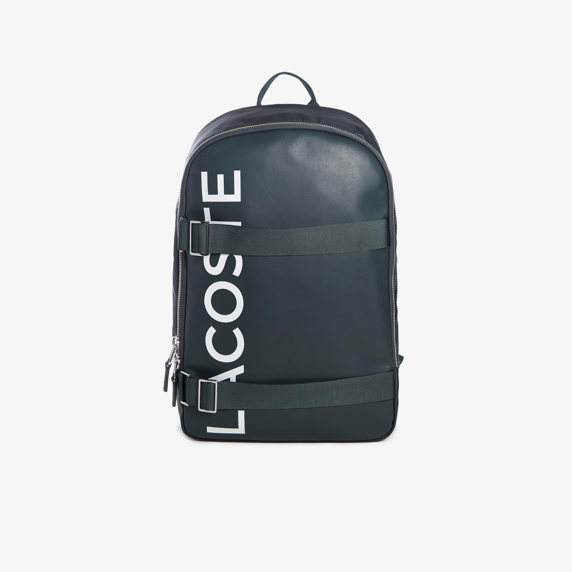 라코스테 Lacoste Mens L.12.12 Branded And Strap Backpack