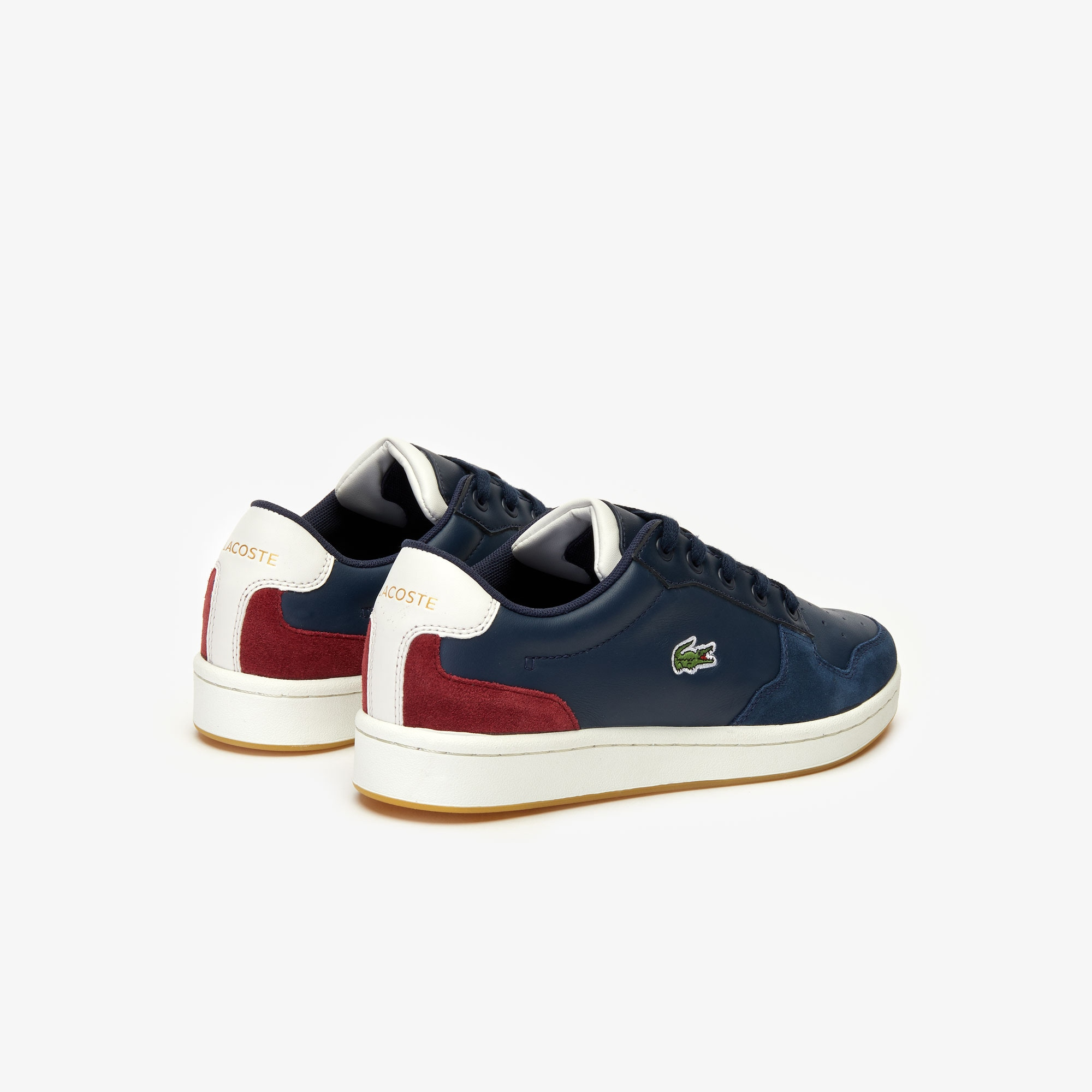 Women's Masters Cup Multicolor Leather and Suede Sneakers