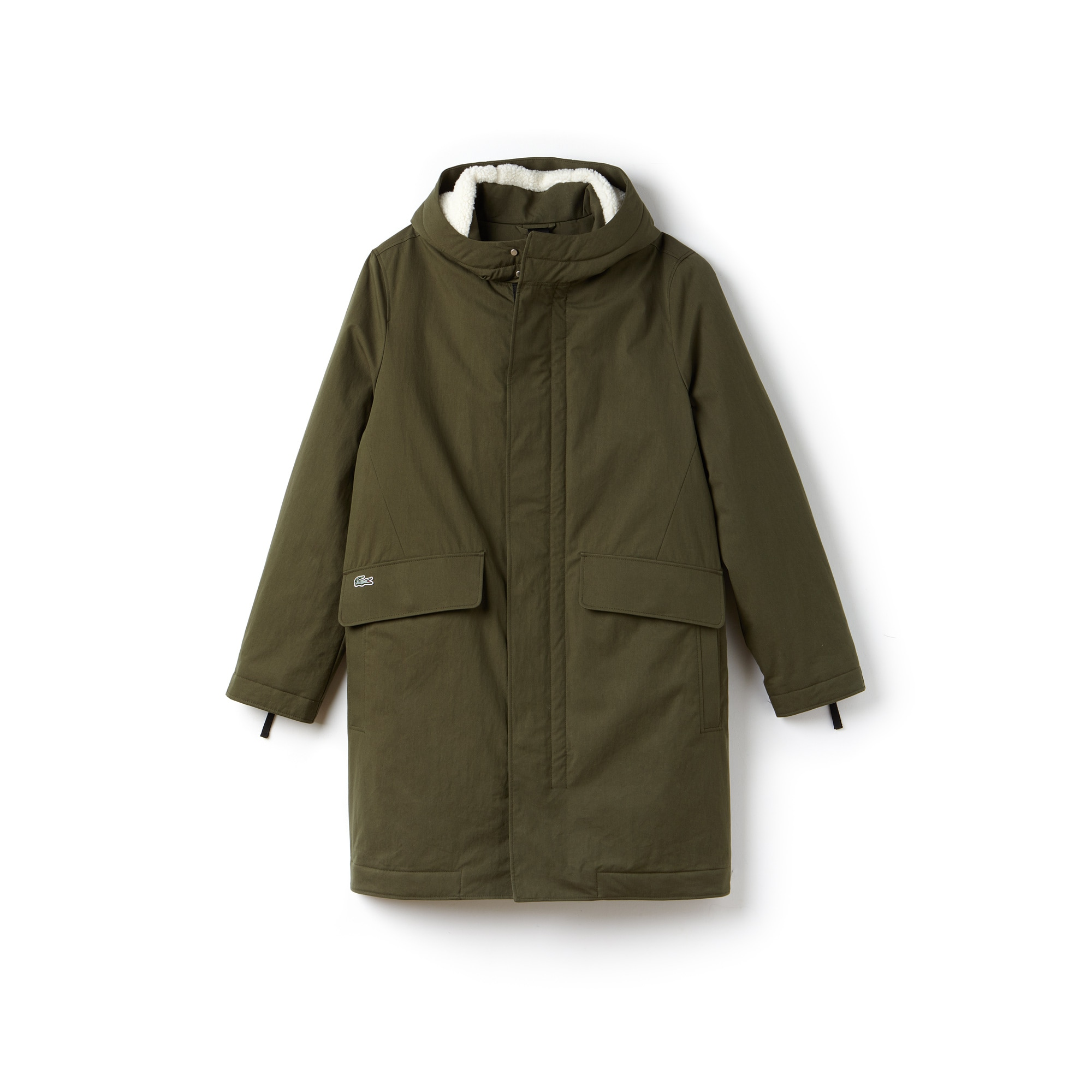 Unisex  LIVE Hooded Cotton Gabardine Parka