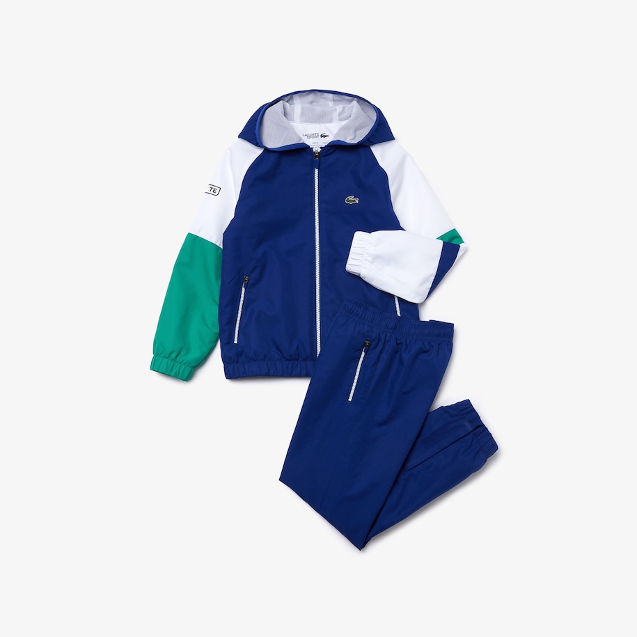 Boys' Lacoste SPORT Hooded Tracksuit