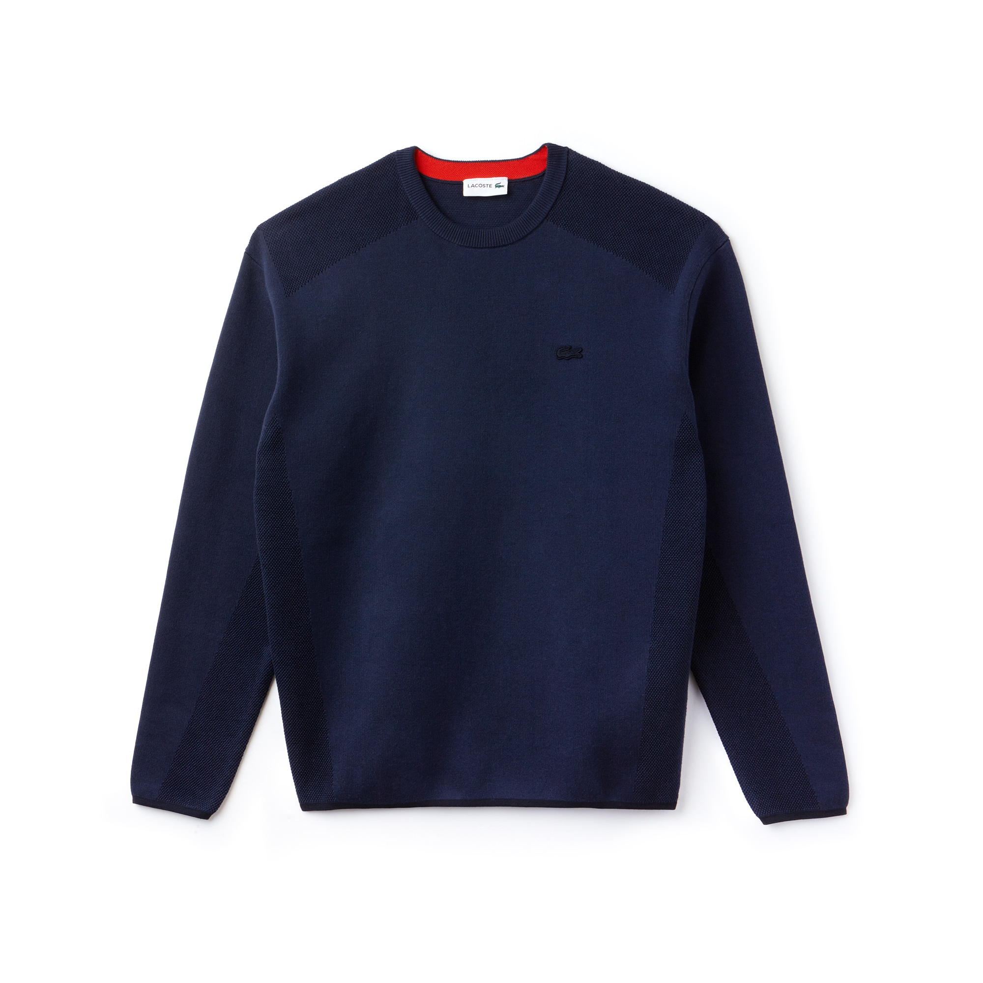 Men's Motion Crew Neck Coolmax Cotton Sweater