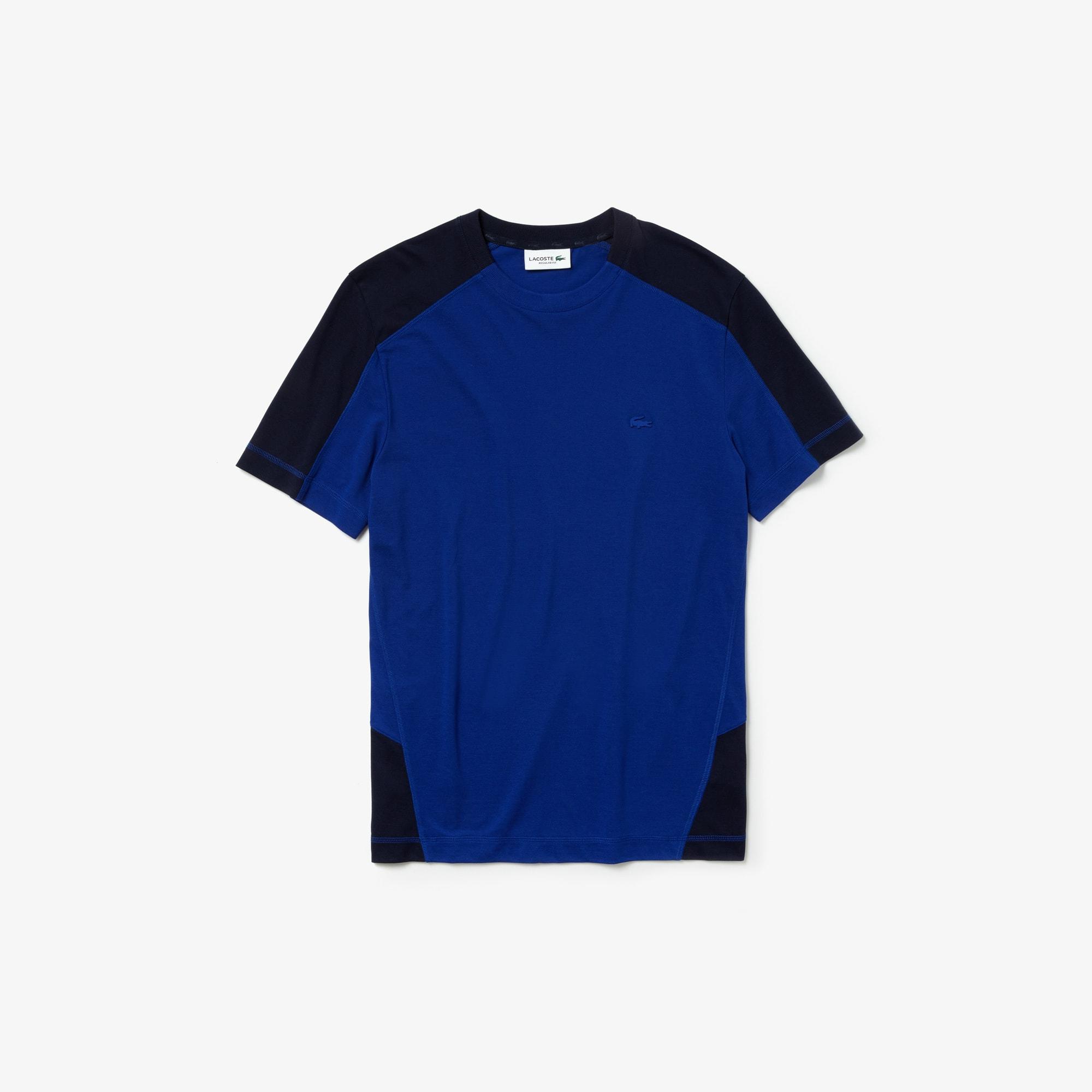 라코스테 반팔티 모션 울트라라이트 반팔 티셔츠 Mens Lacoste Motion Ultra Light Cotton T-shirt,Navy Blue / Navy Blue