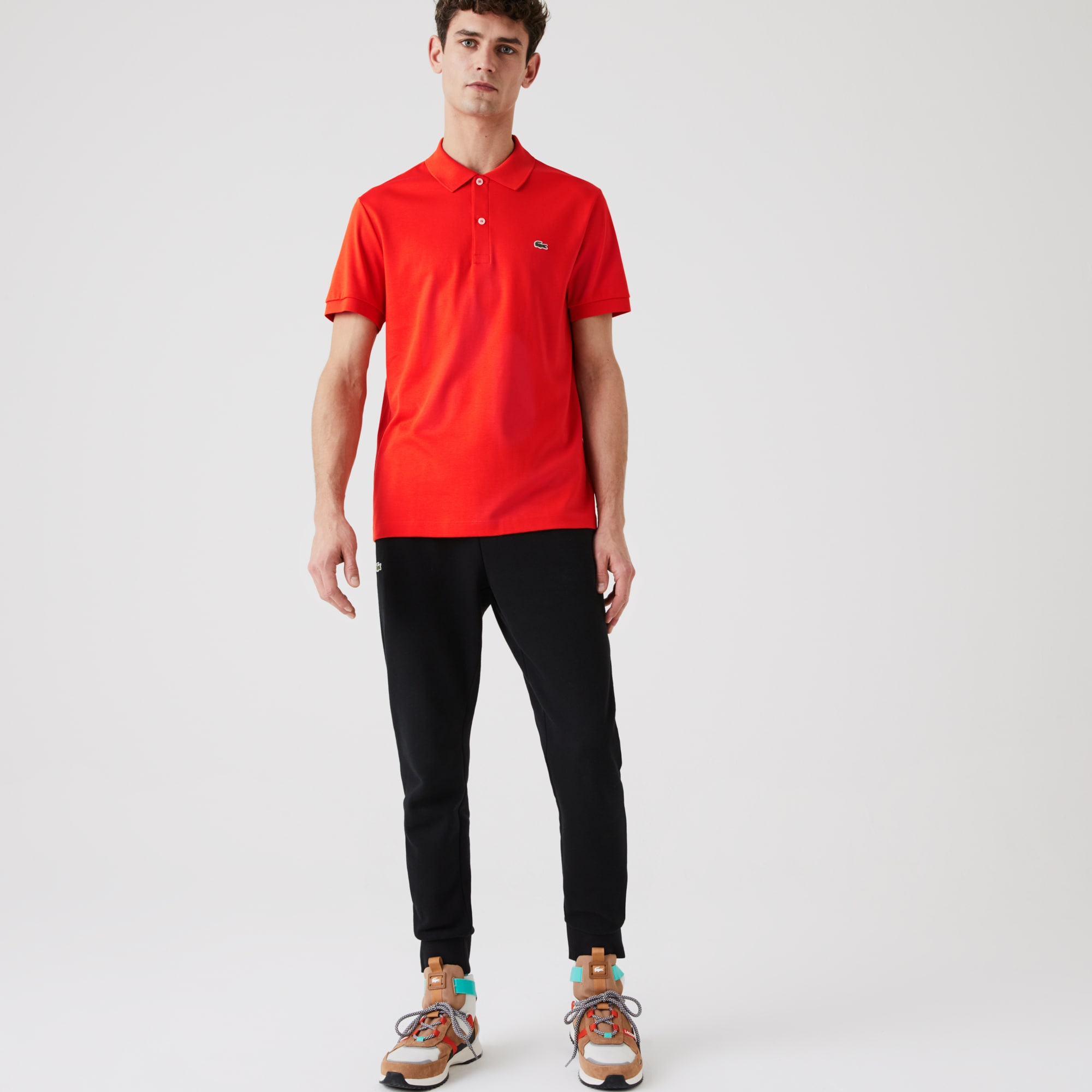 Lacoste Mens Regular Fit Soft Cotton Polo