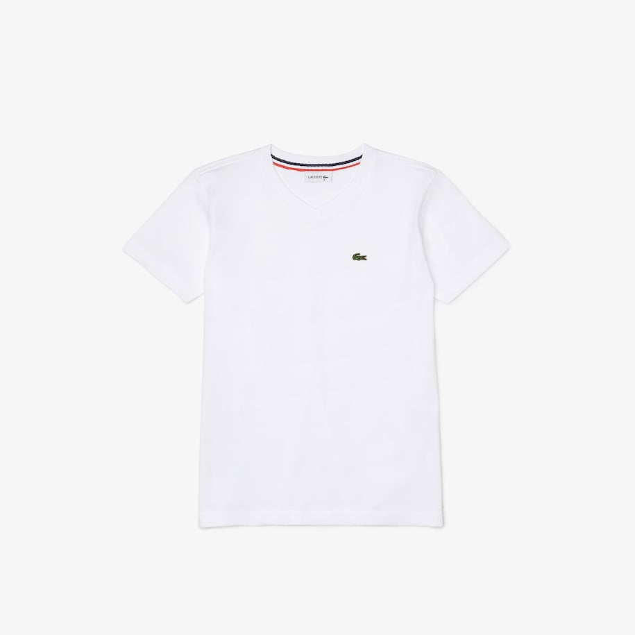 Boys' Cotton Jersey V-neck T-shirt