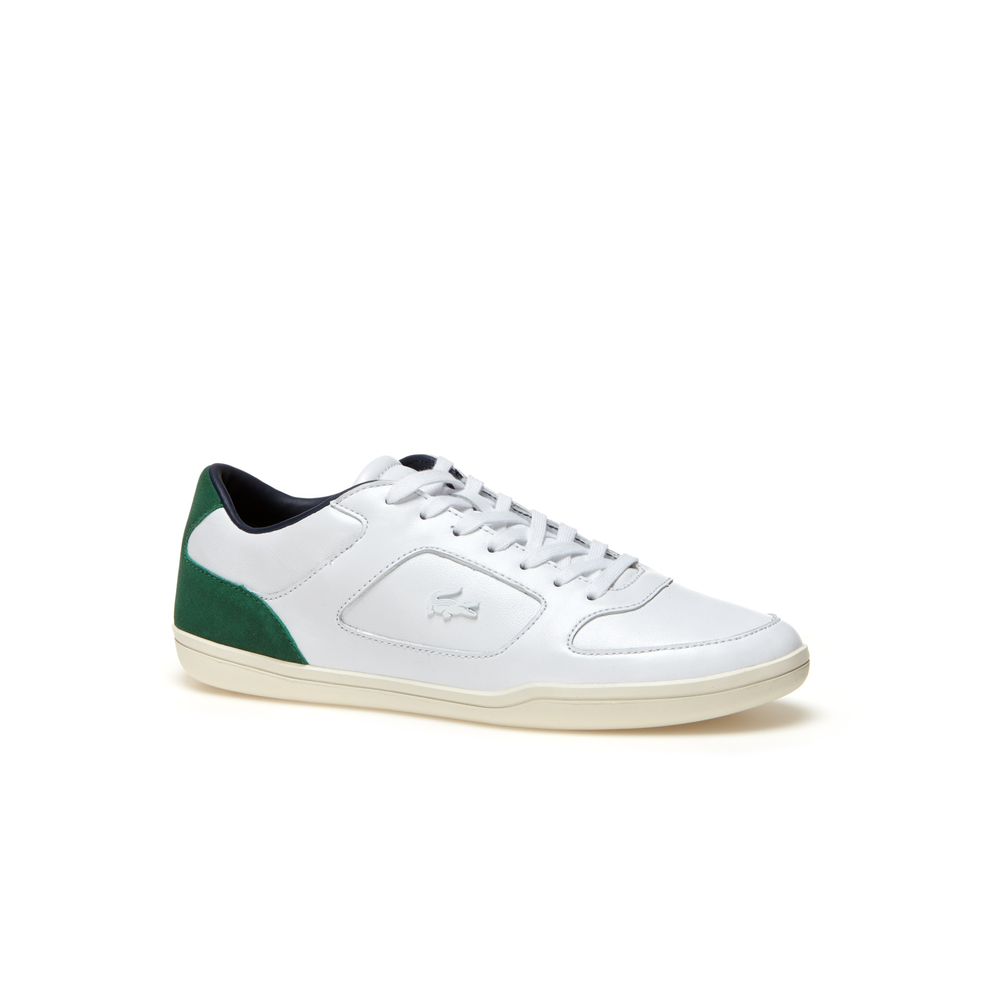 Men's Court-Minimal Leather Sneakers