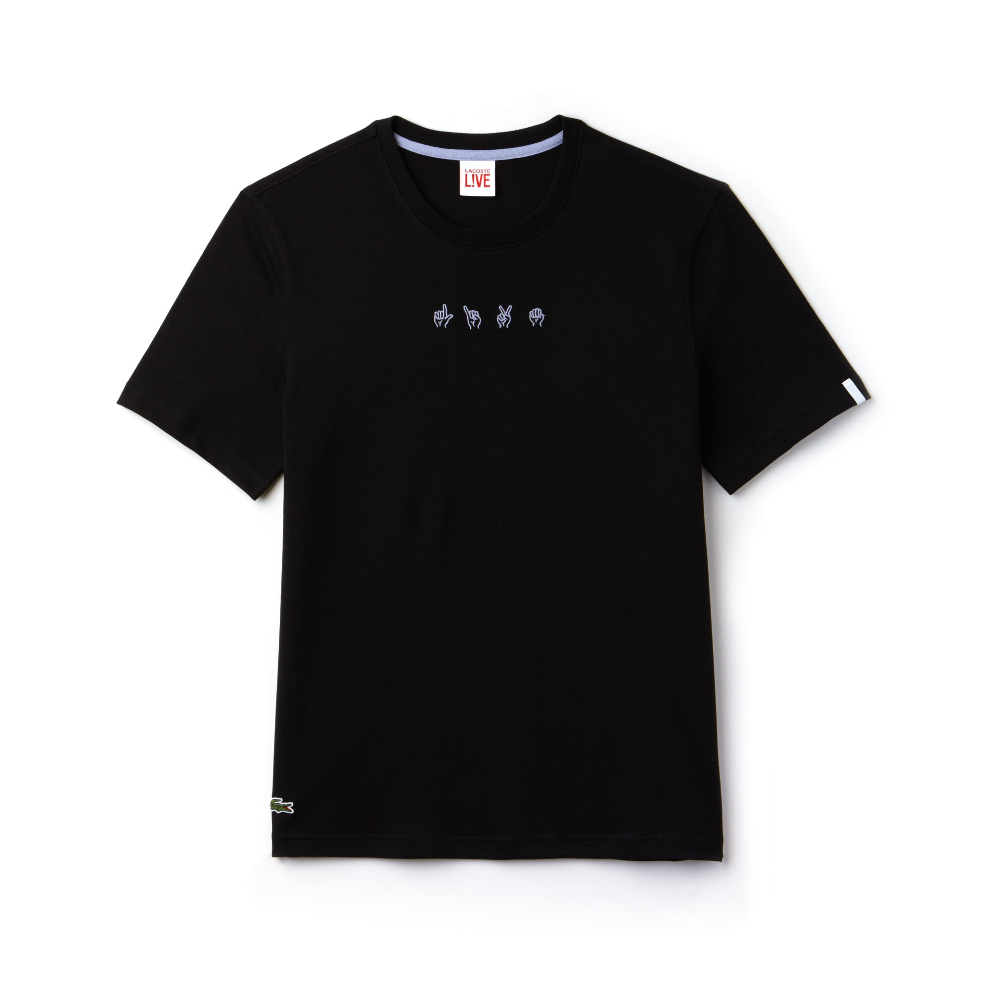 Men's LIVE Embroideries T-Shirt