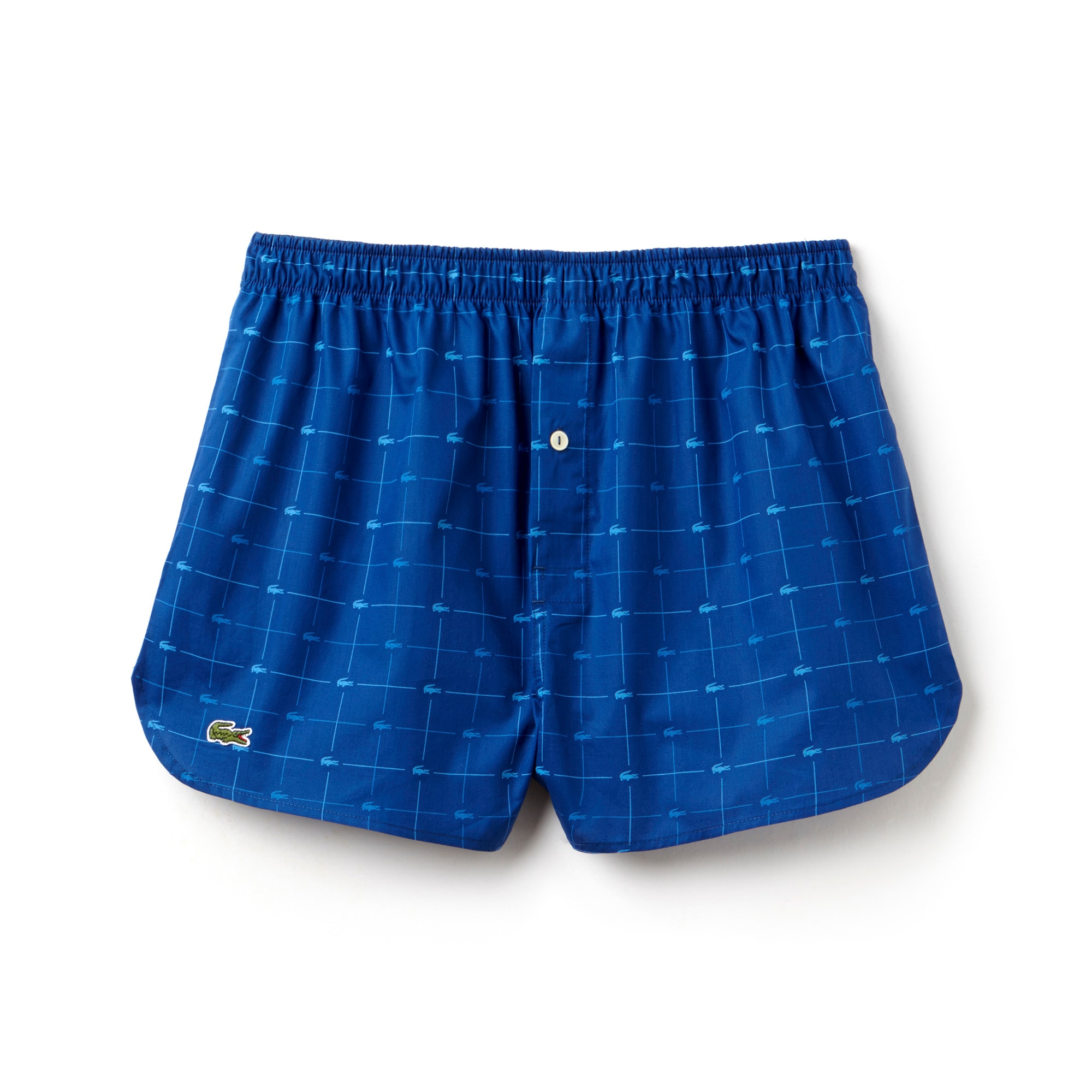 Men's Authentics Signature Collection Print Woven Boxer