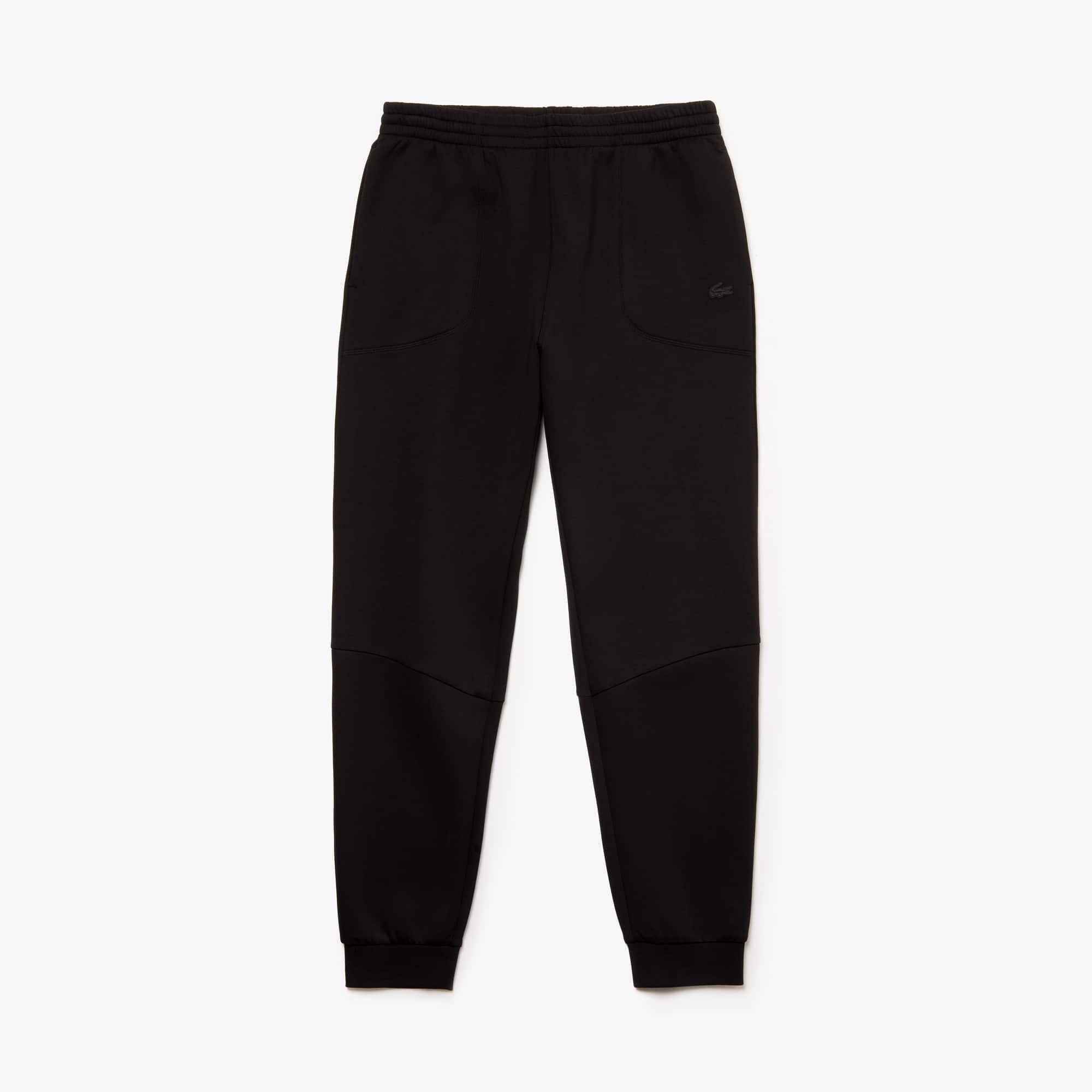 Mens 라코스테 Lacoste Motion Fleece Sweatpants,black