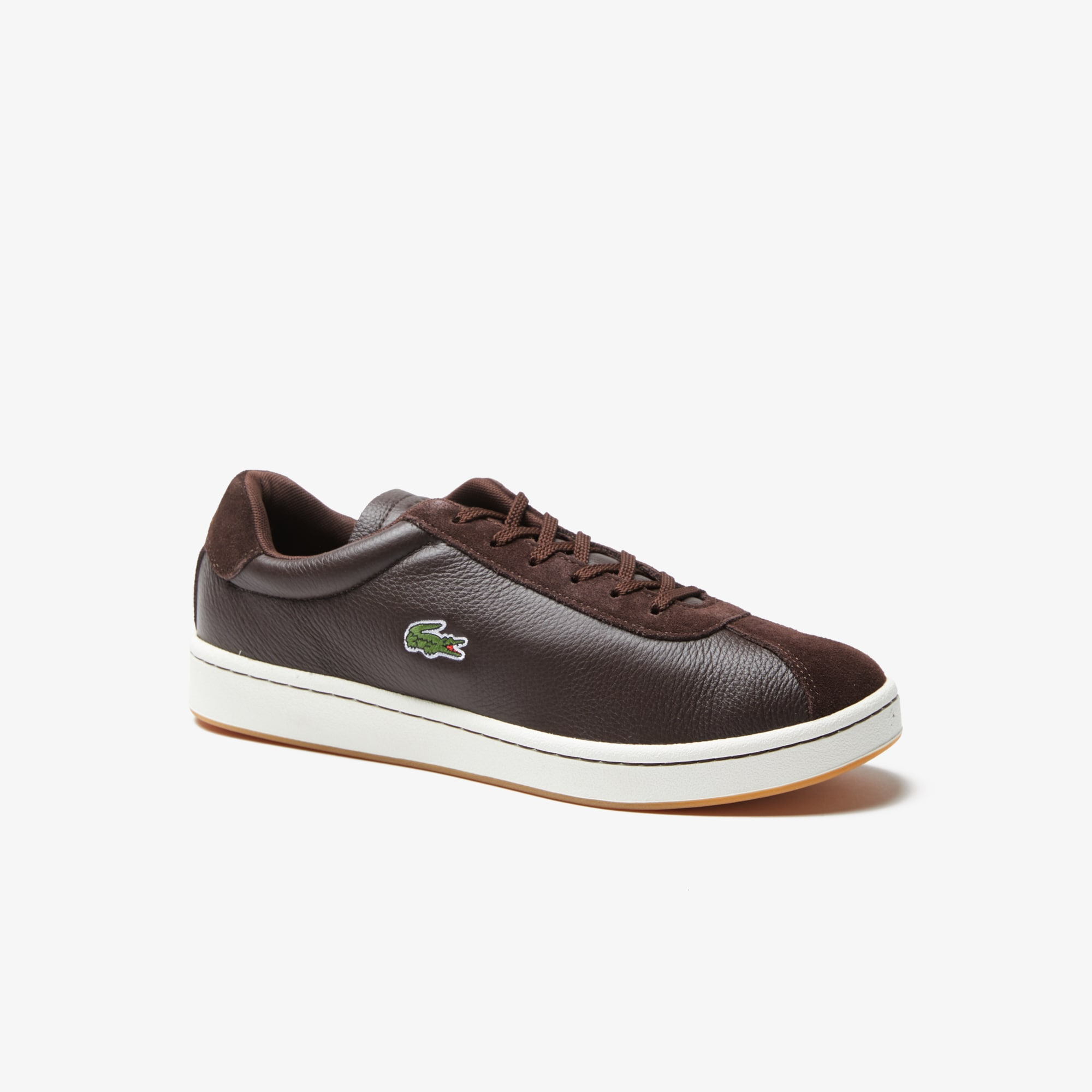 Men's Masters Leather and Suede Sneakers