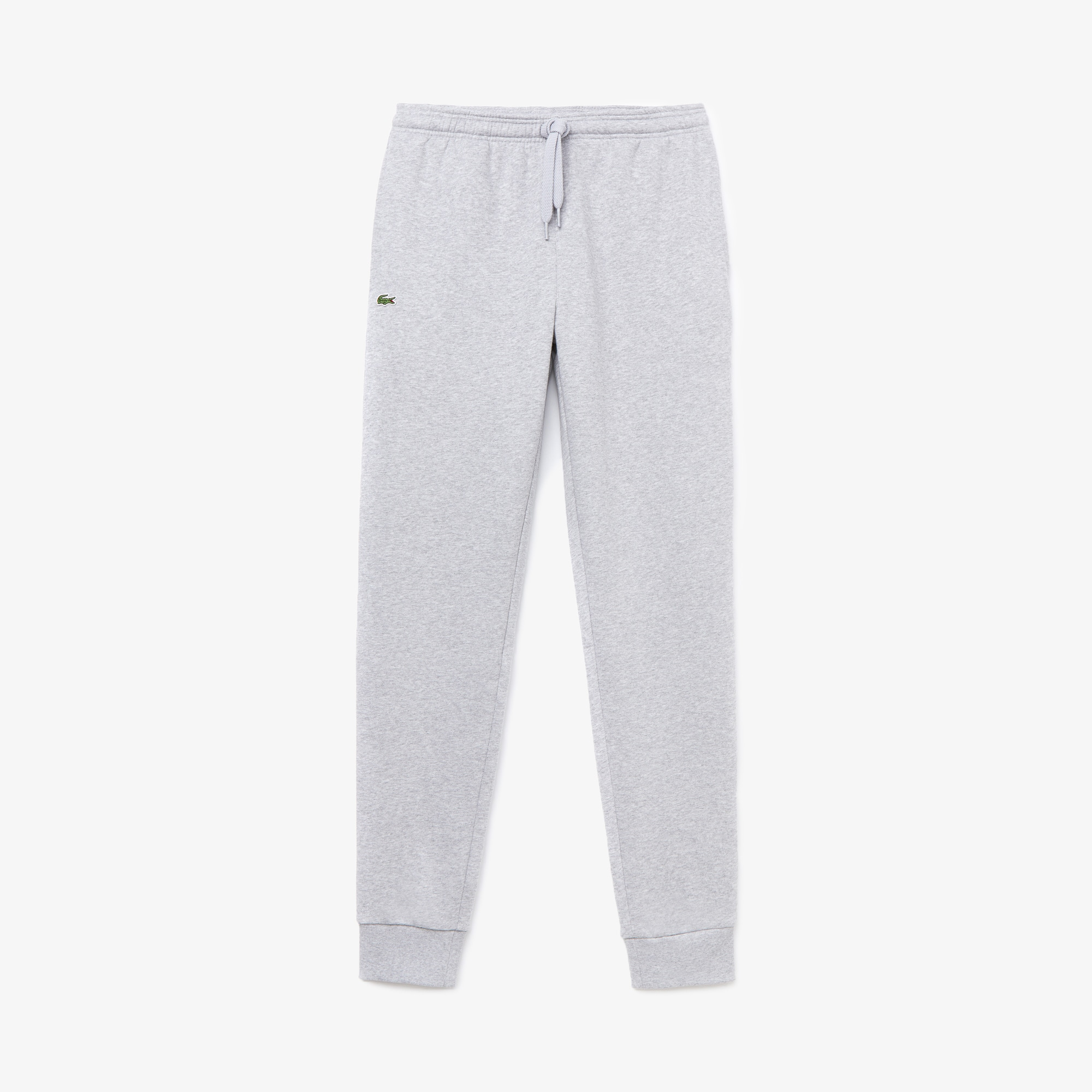 라코스테 스포츠 스웻 팬츠 Lacoste Mens SPORT Cotton Fleece Tennis Sweatpants,silver grey chine