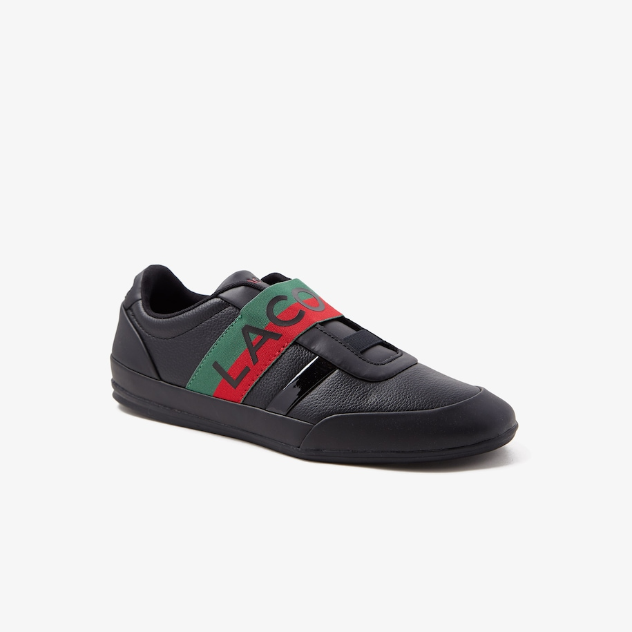 Men's Misano Elastic Leather Sneakers
